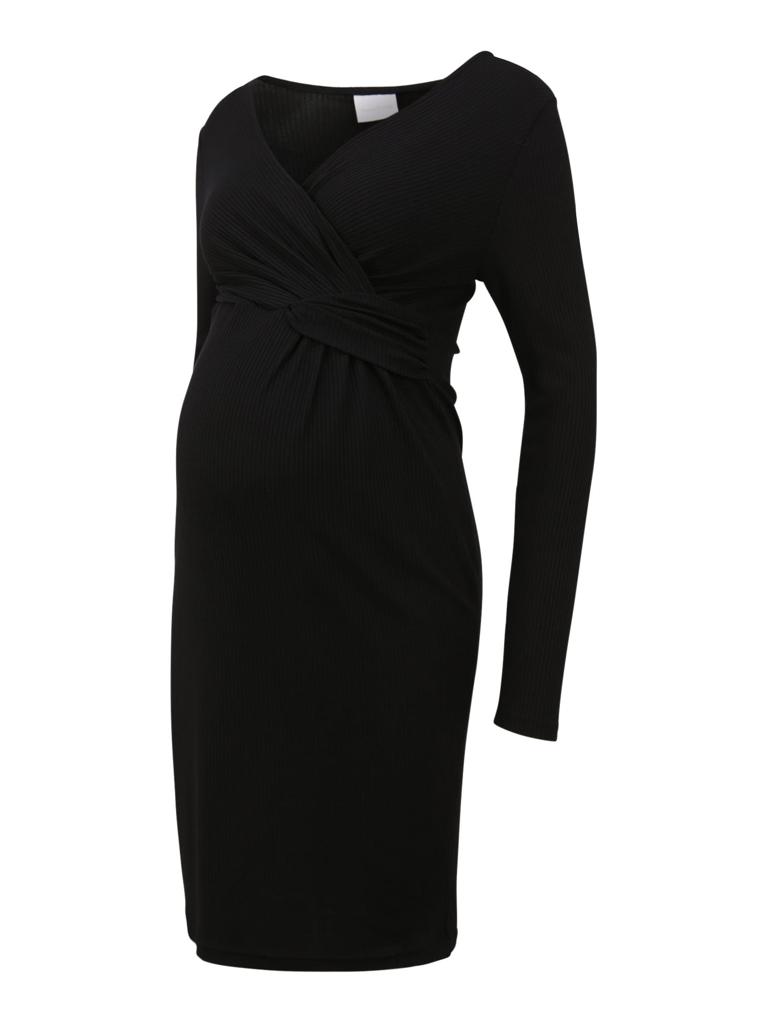 MAMALICIOUS Suknelė 'GOA TESS' juoda
