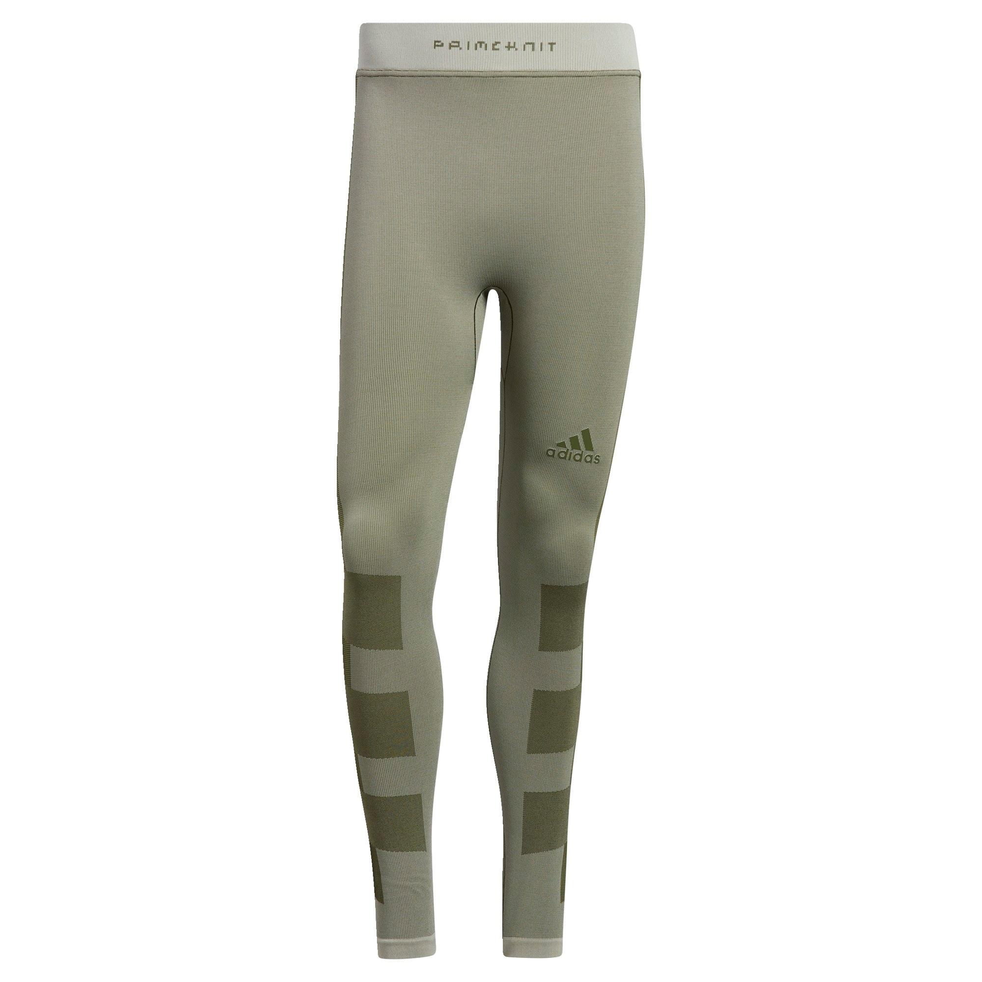 ADIDAS PERFORMANCE Sportinės kelnės rusvai žalia / alyvuogių spalva