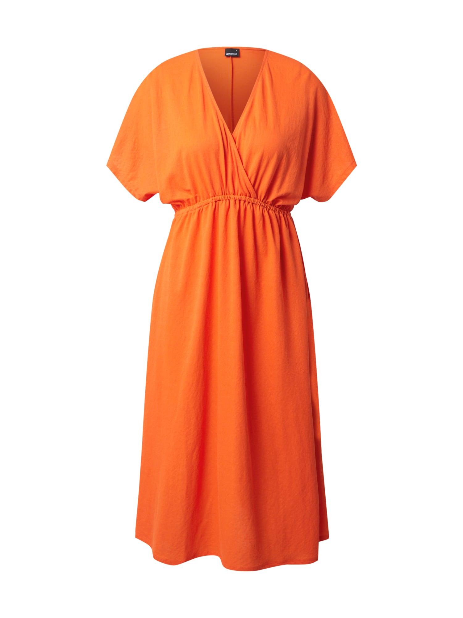 Gina Tricot Šaty 'Madison'  oranžová