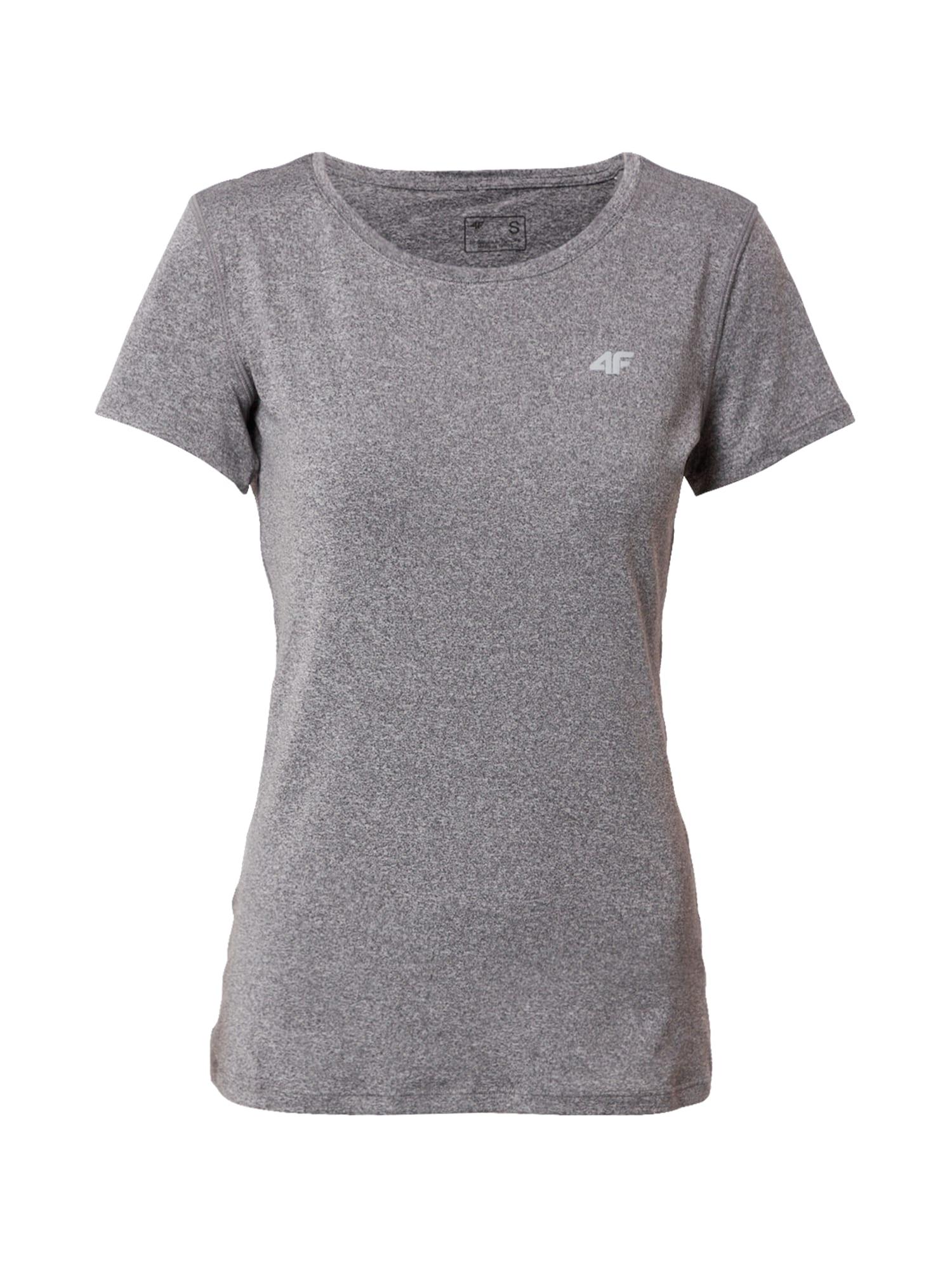 4F Sportiniai marškinėliai margai pilka