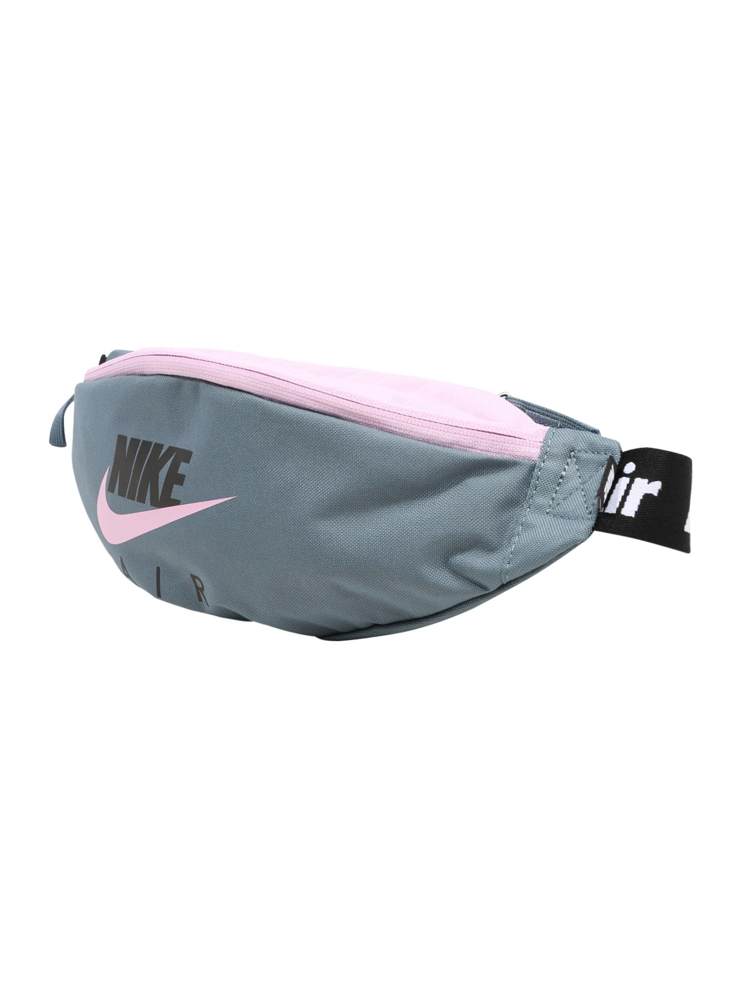 Nike Sportswear Ledvinka 'Air Heritage'  pink / chladná modrá