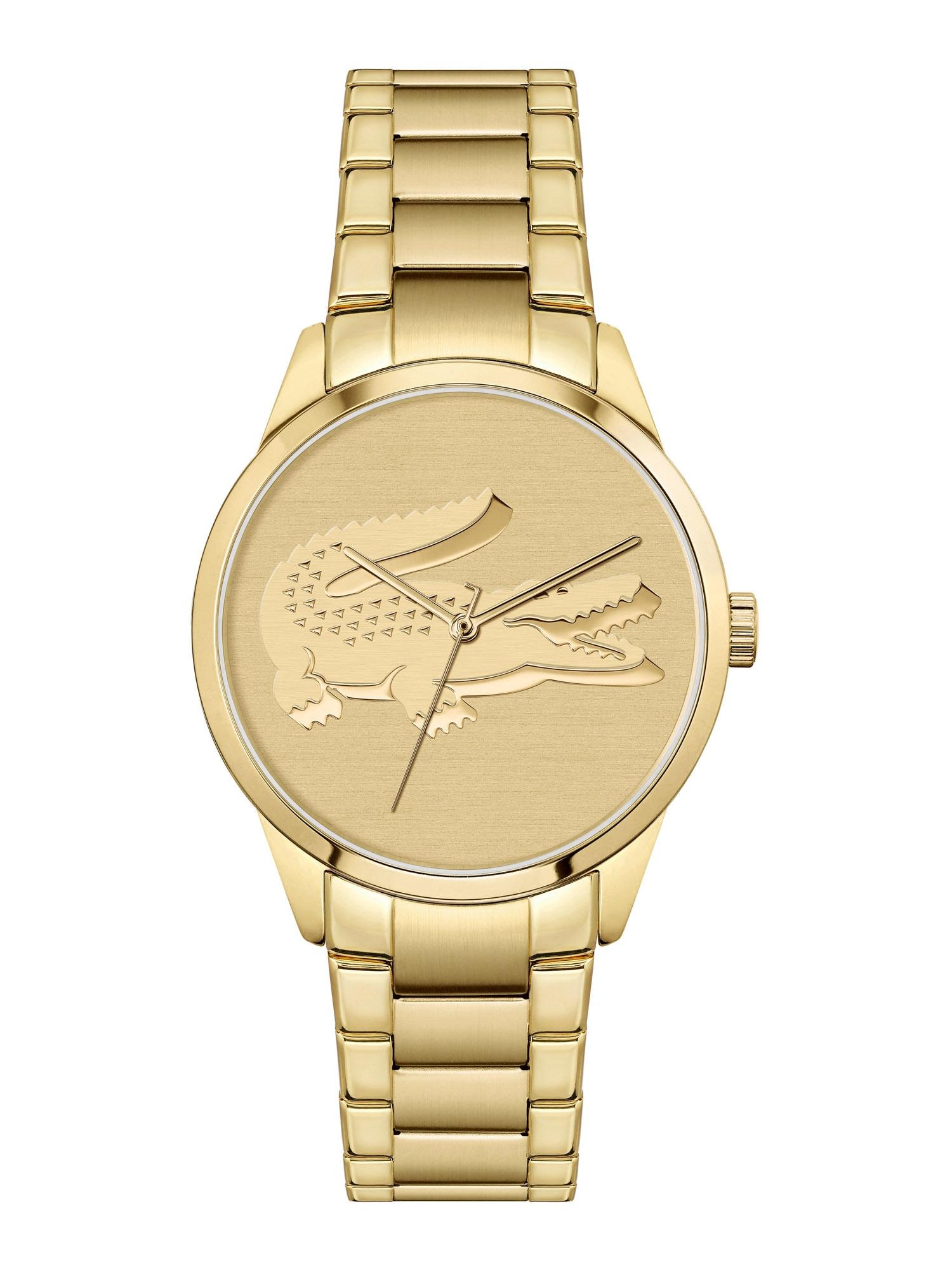 LACOSTE Analoginis (įprasto dizaino) laikrodis auksas