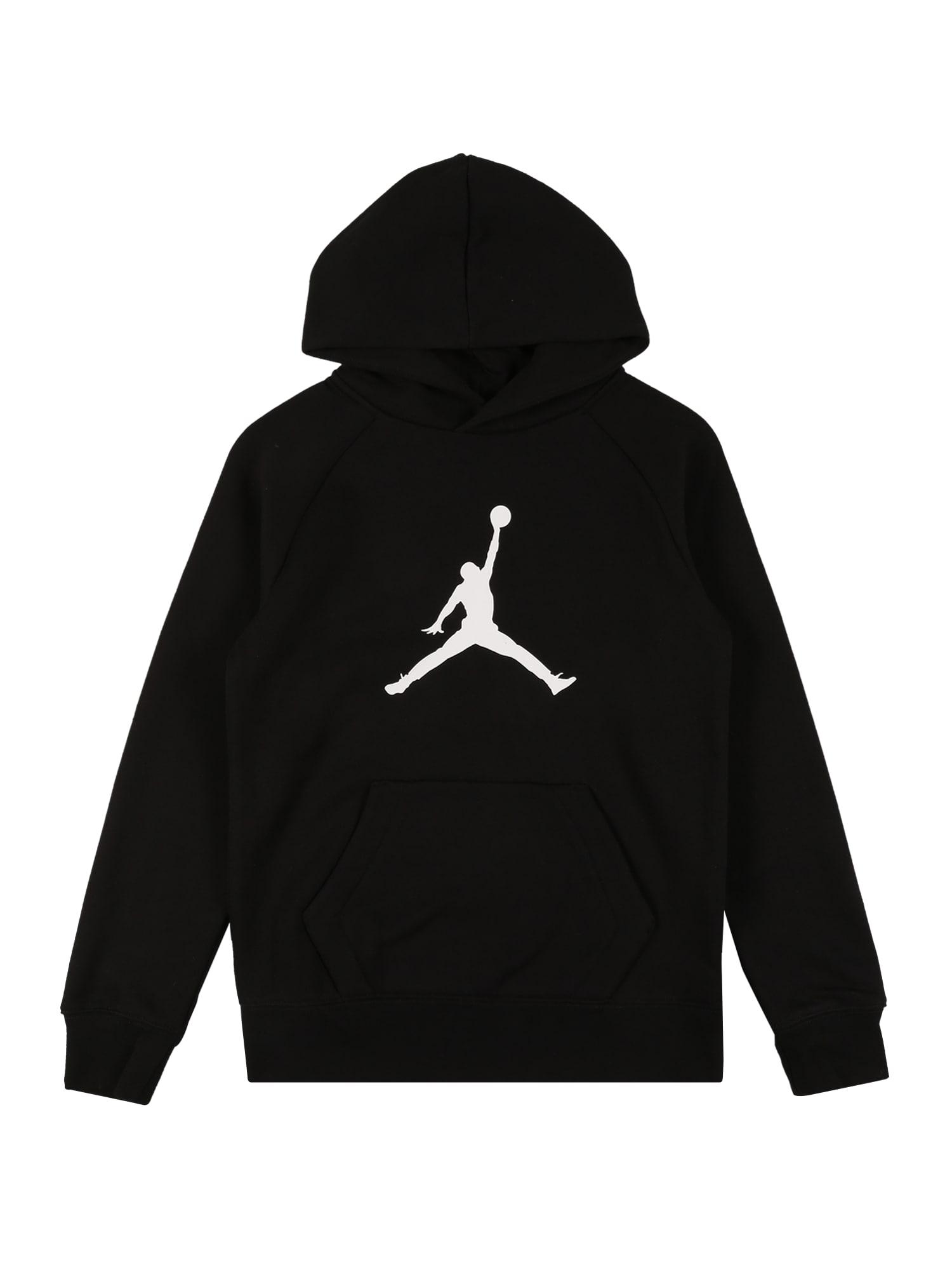 Jordan Megztinis be užsegimo juoda / balta