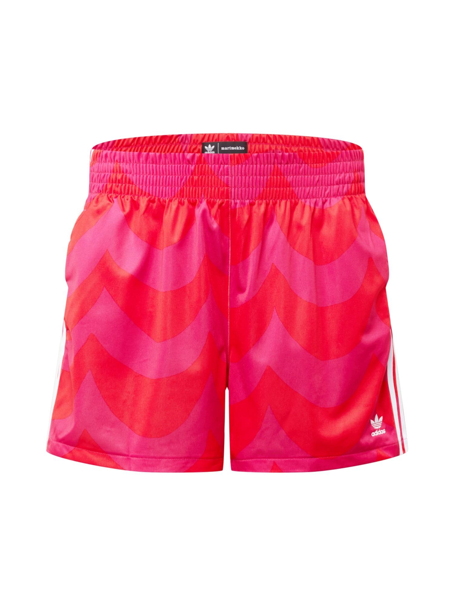 ADIDAS ORIGINALS Kalhoty  červená / pink