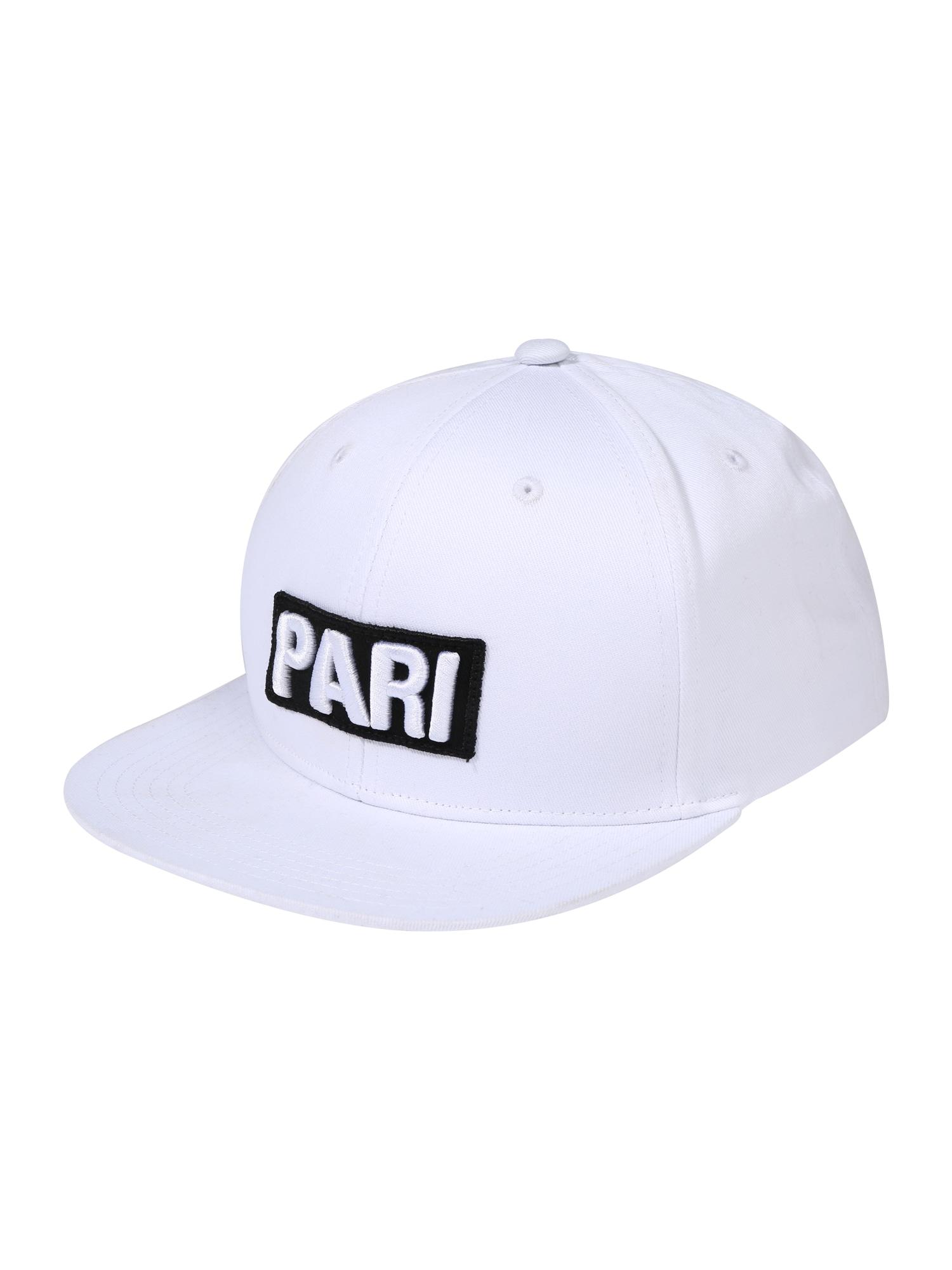 ABOUT YOU X PARI Kepurė 'Raul' balta