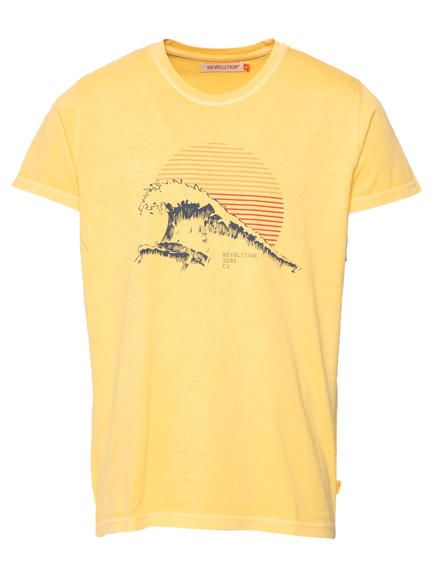 Revolution Marškinėliai geltona