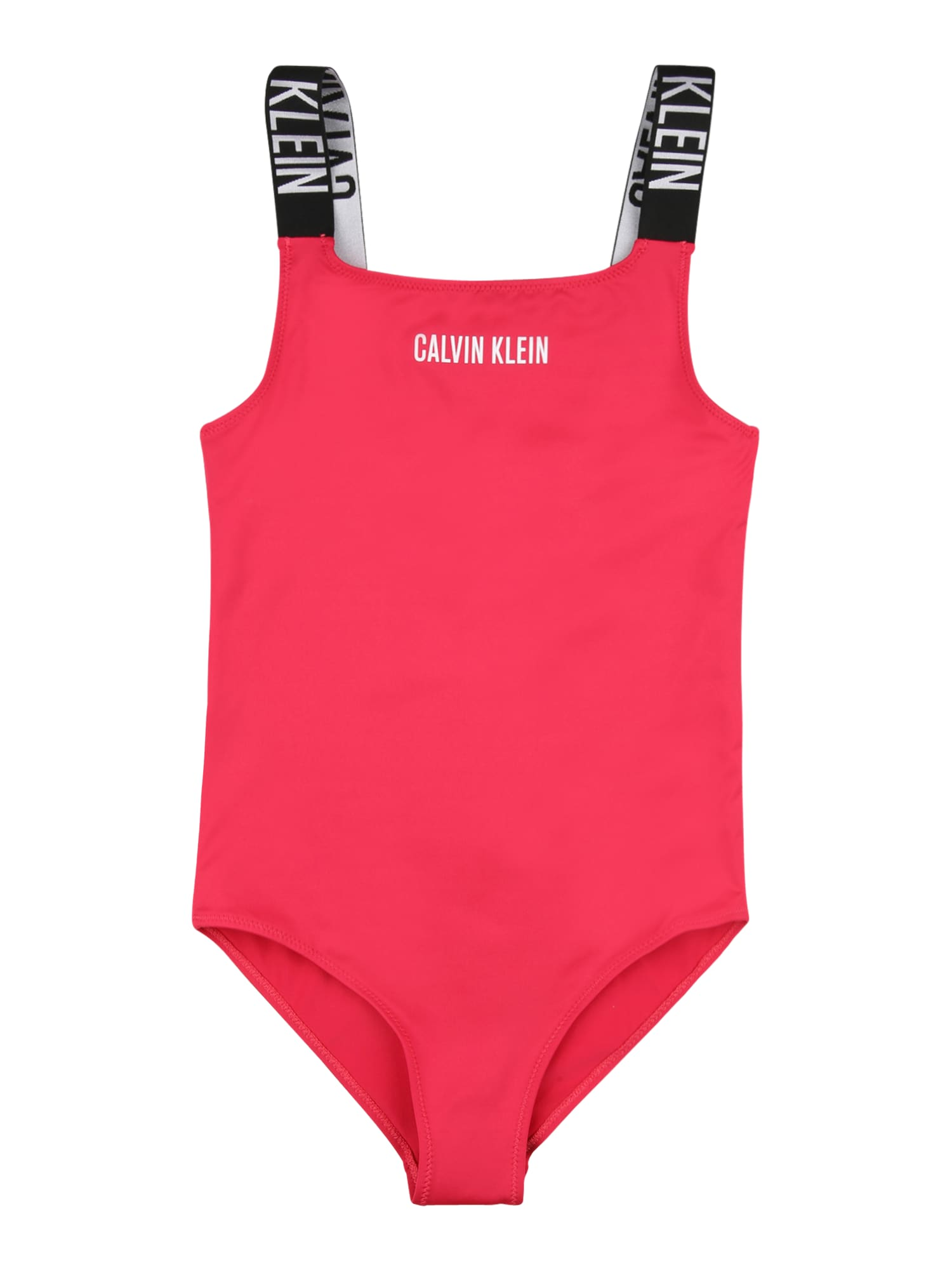 Calvin Klein Swimwear Maudymosi kostiumėlis rožinė / juoda / balta