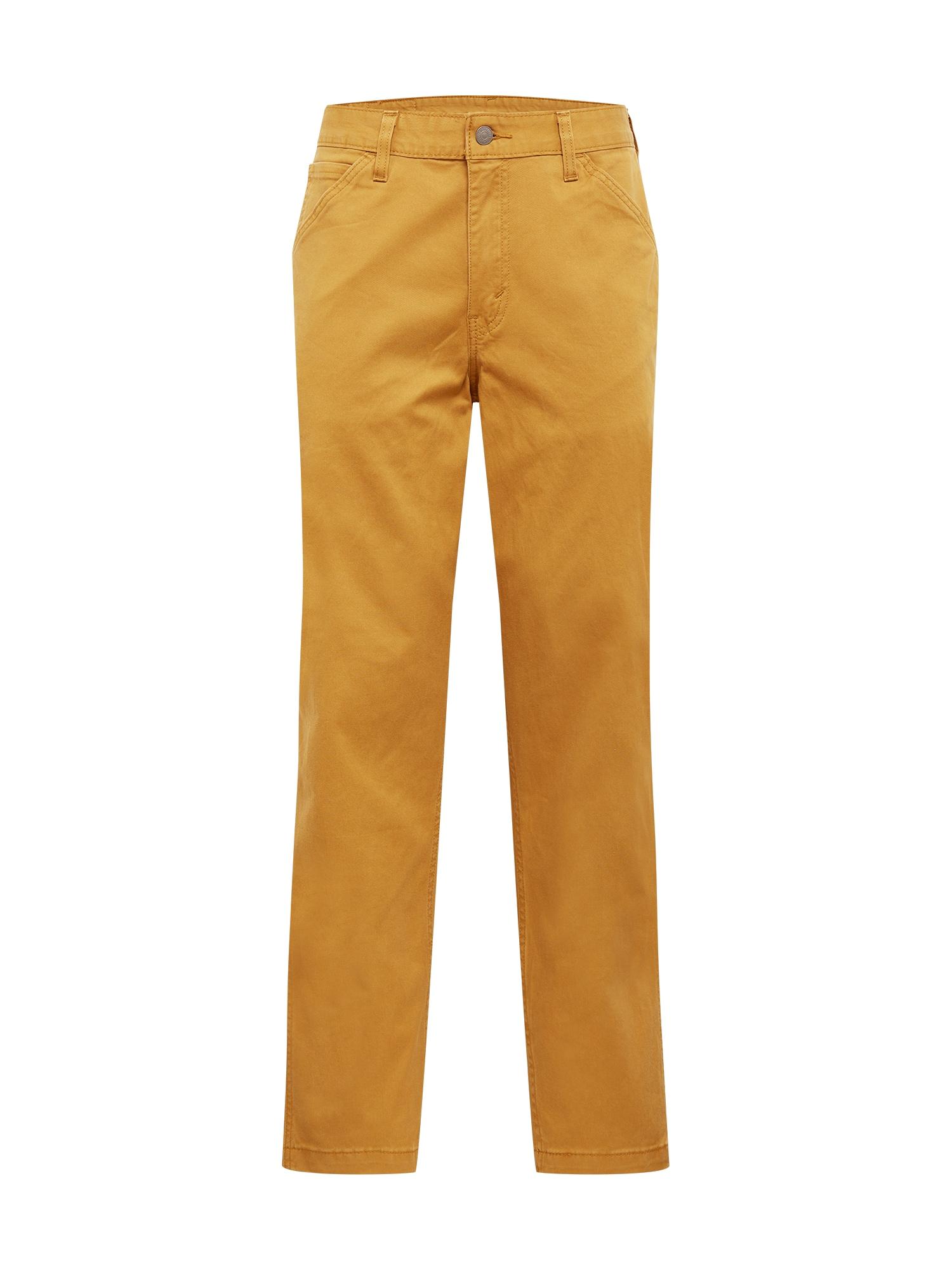 LEVI'S Darbinio stiliaus džinsai ruda