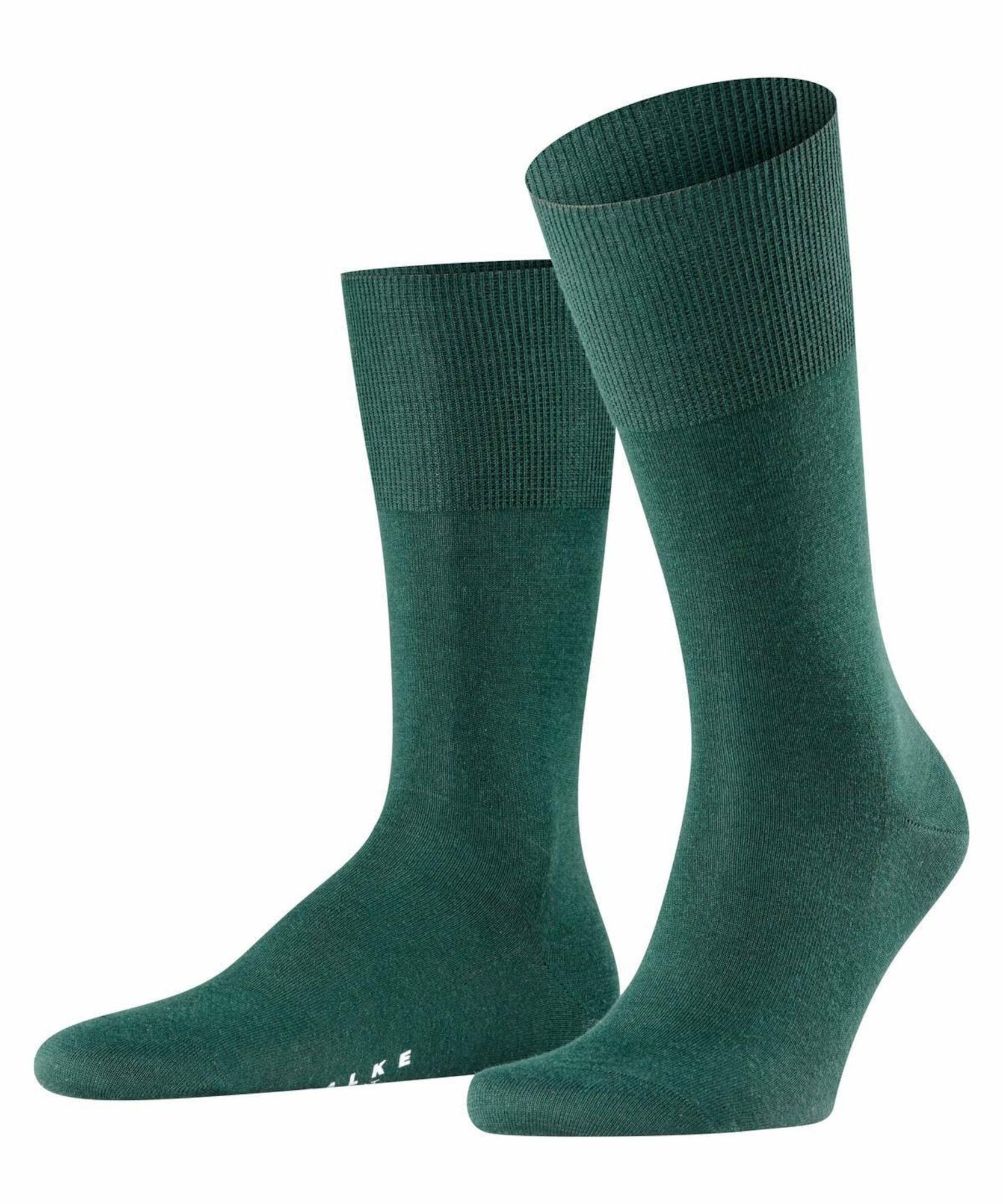FALKE Kojinės smaragdinė spalva