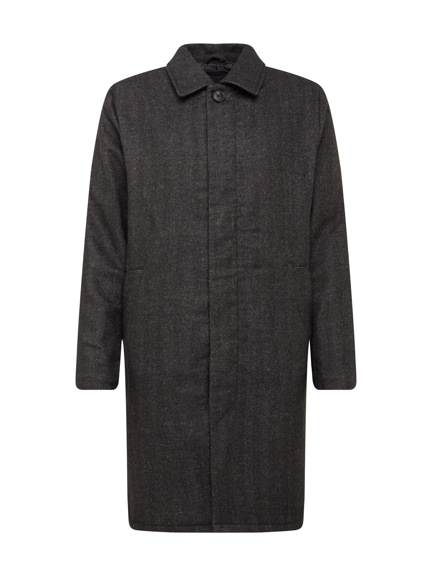 Cotton On Demisezoninis paltas antracito / šviesiai pilka