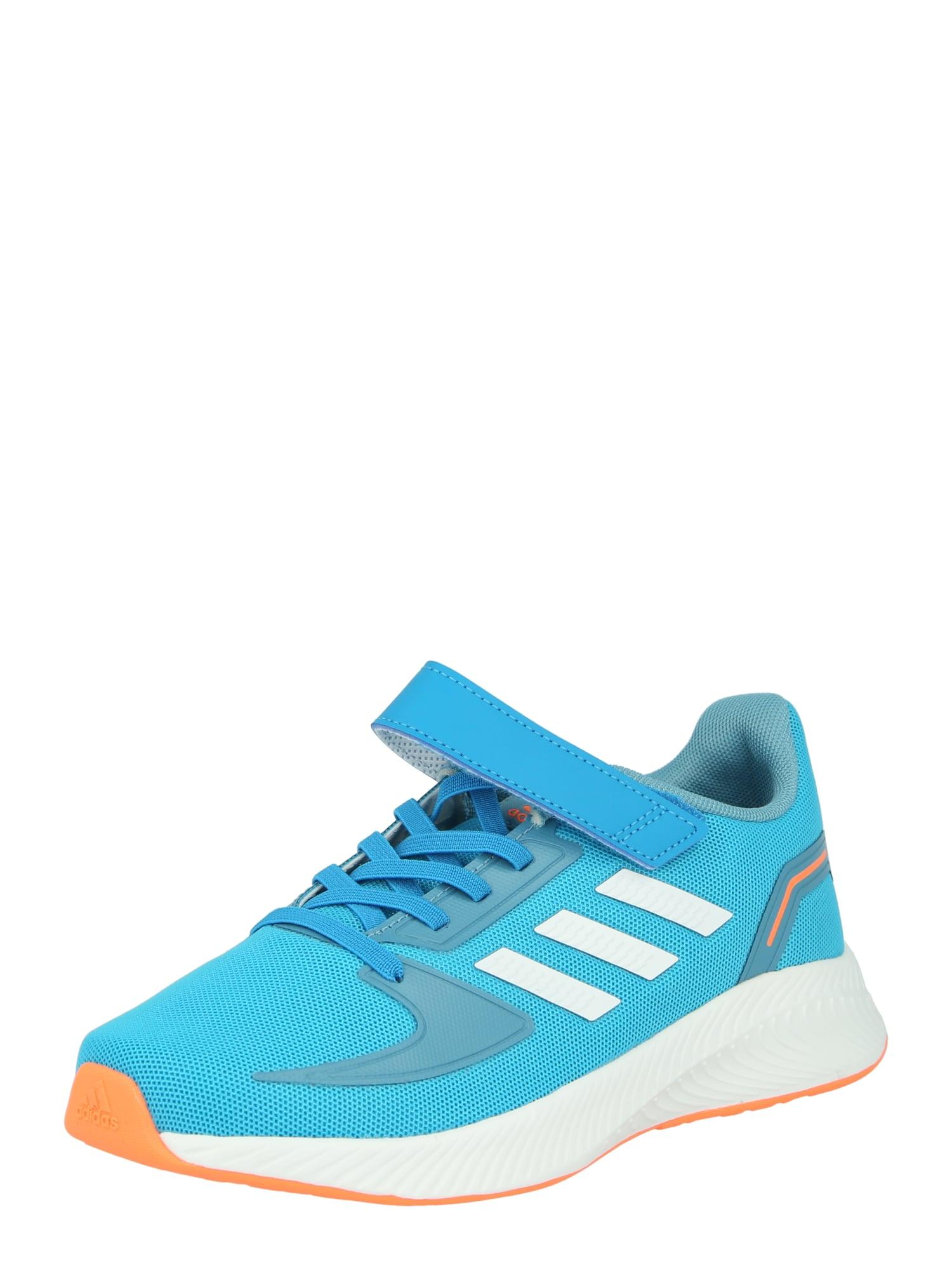 ADIDAS PERFORMANCE Sportiniai batai 'RUNFALCON 2.0 C' turkio spalva / balta / oranžinė