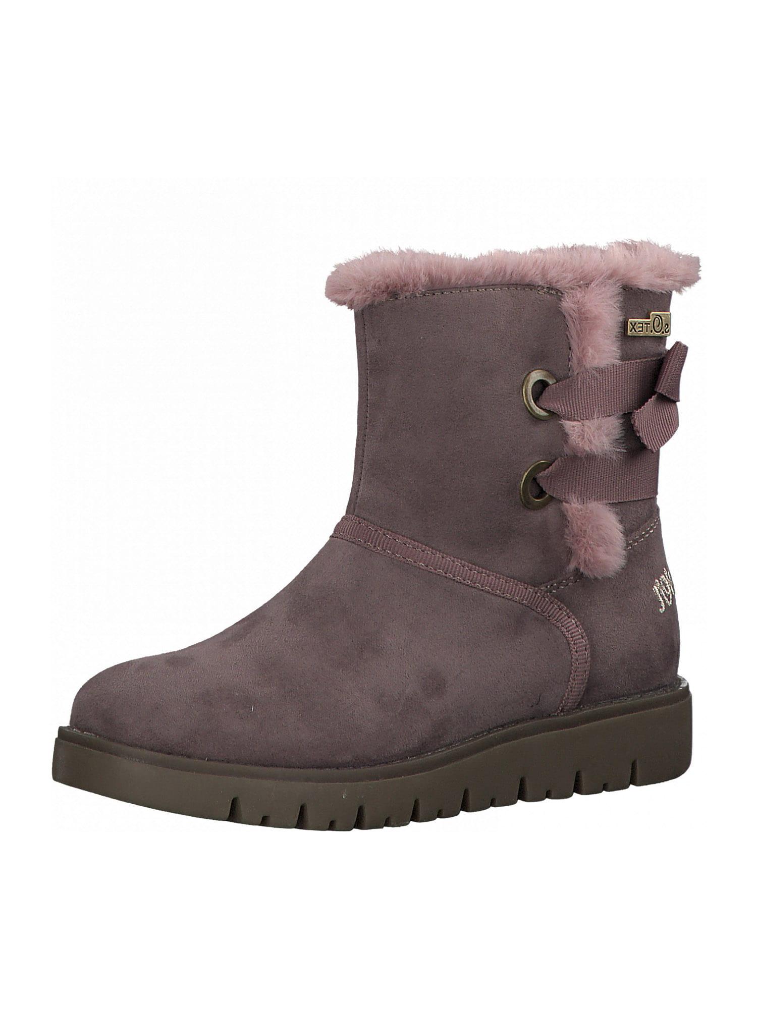 s.Oliver Junior Sniego batai tamsiai violetinė