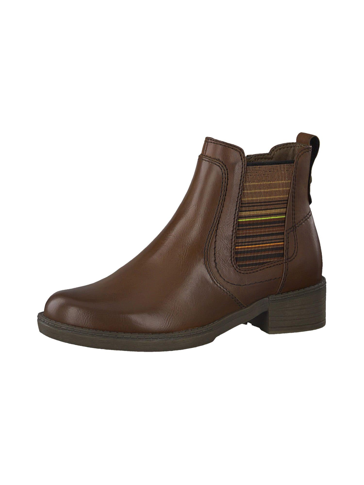 TAMARIS Chelsea boty  brokátová / mix barev