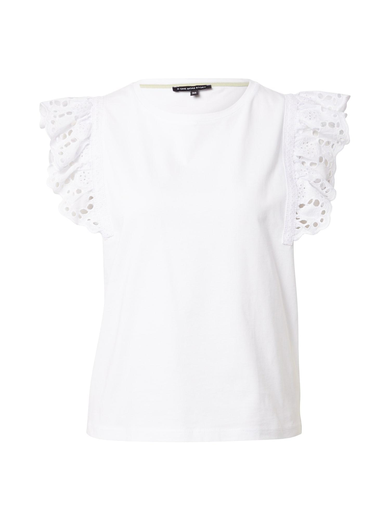 ONE MORE STORY Marškinėliai balta