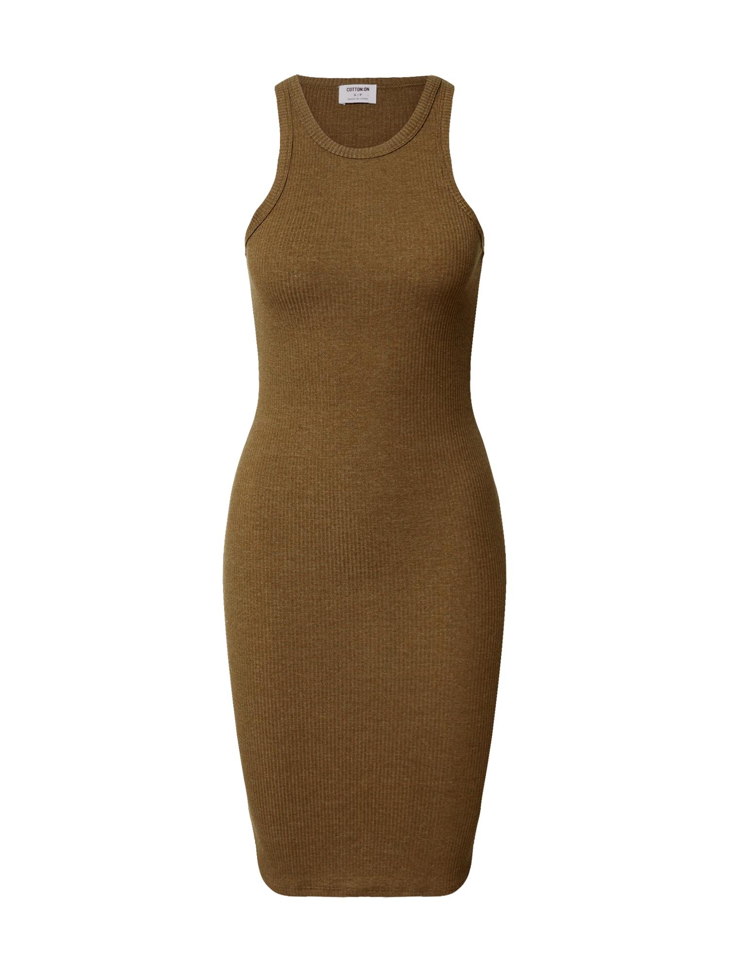 Cotton On Šaty 'Kirsty'  zelená / olivová