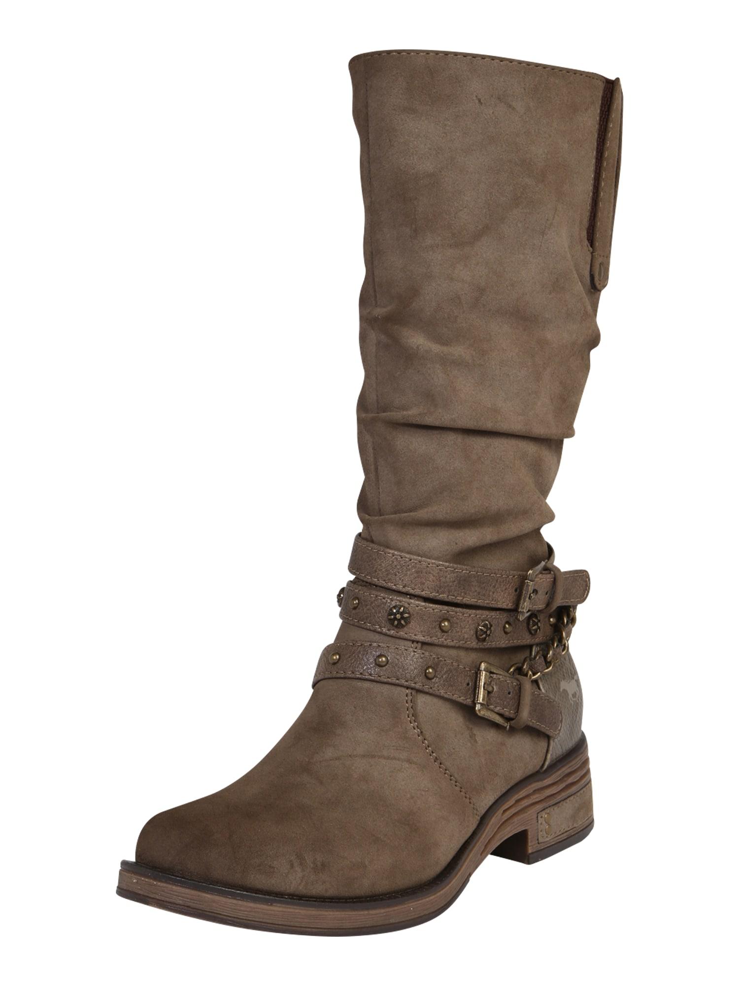 MUSTANG Auliniai batai rausvai pilka