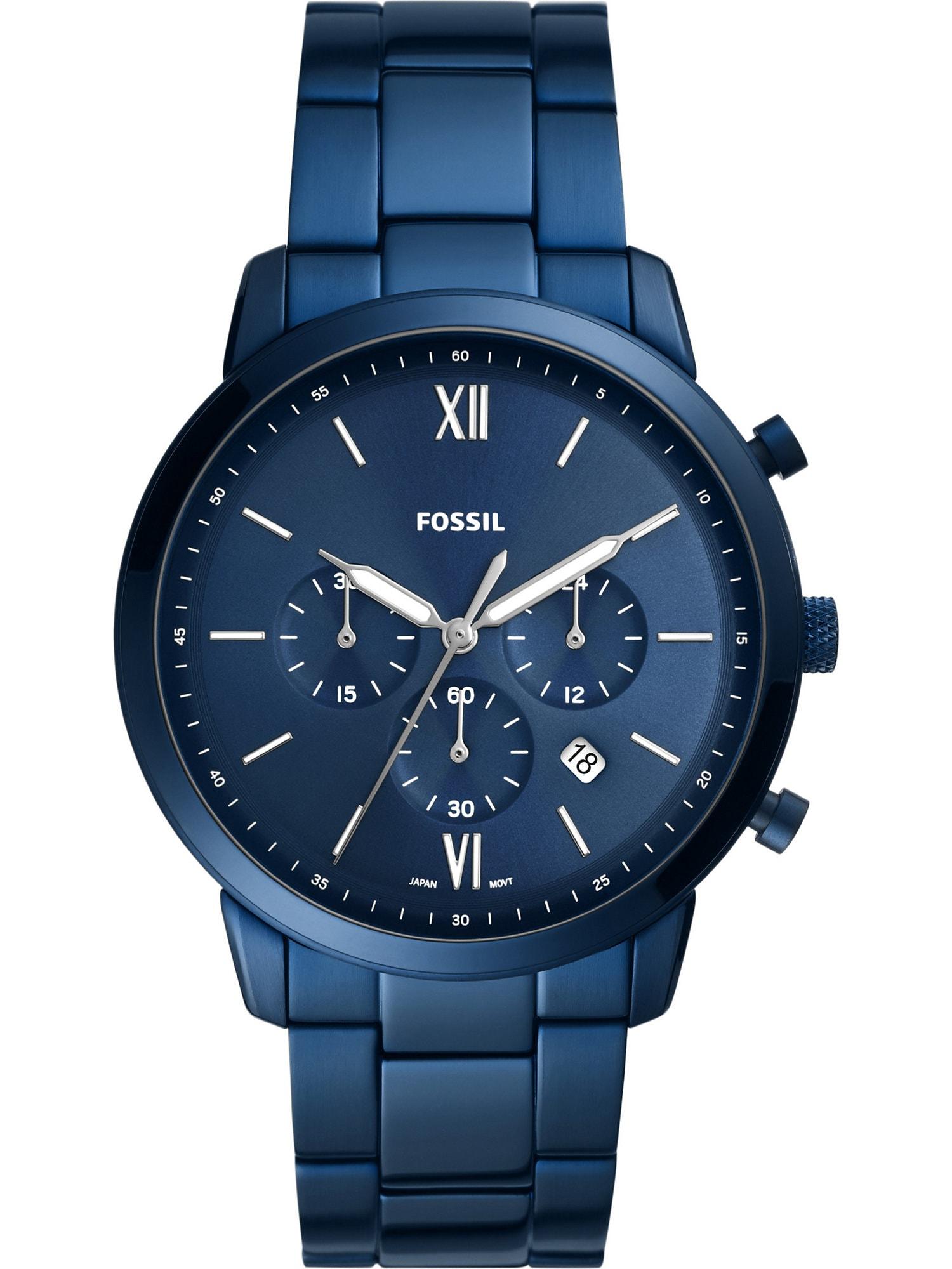 FOSSIL Analoginis (įprasto dizaino) laikrodis mėlyna