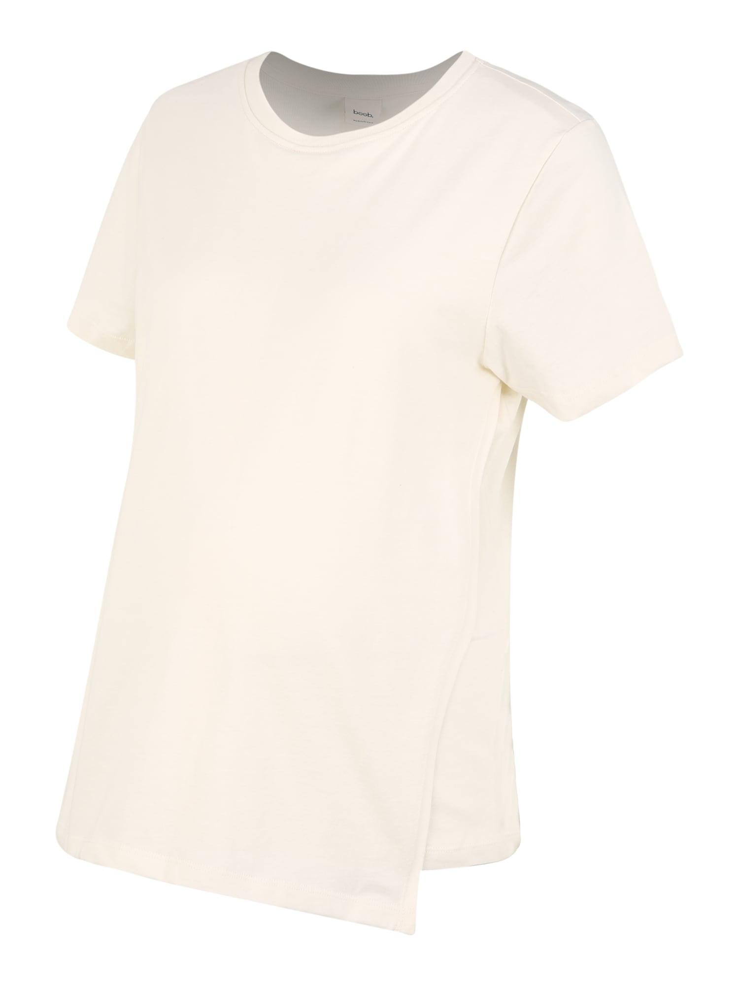 BOOB Marškinėliai kremo
