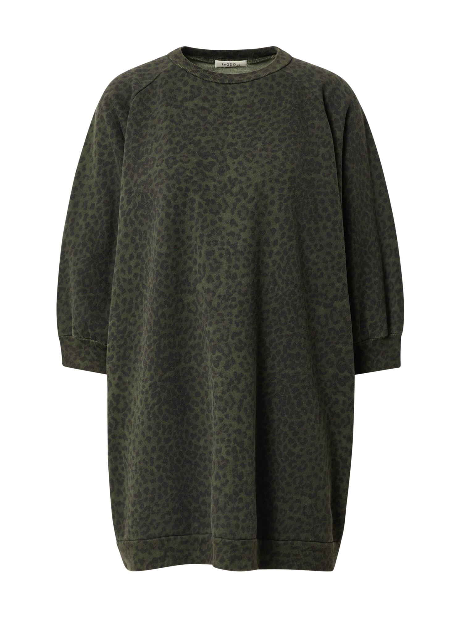 Ragdoll LA Megztinis be užsegimo tamsiai žalia / žalia