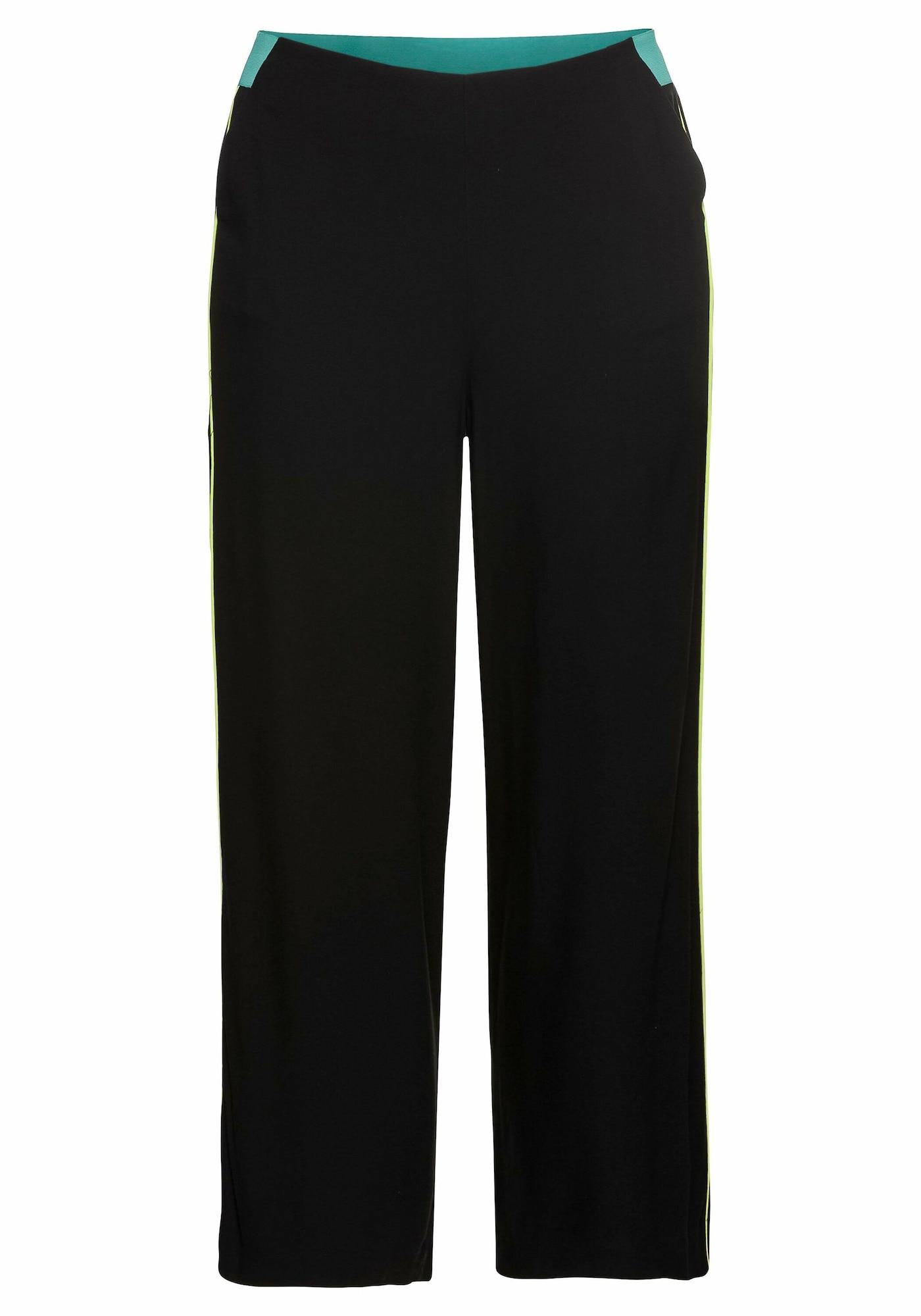 SHEEGO Kelnės juoda / turkio spalva / geltona
