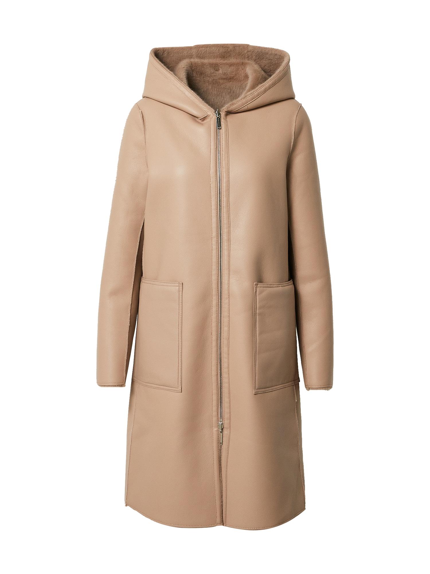 RINO & PELLE Demisezoninis paltas šviesiai ruda