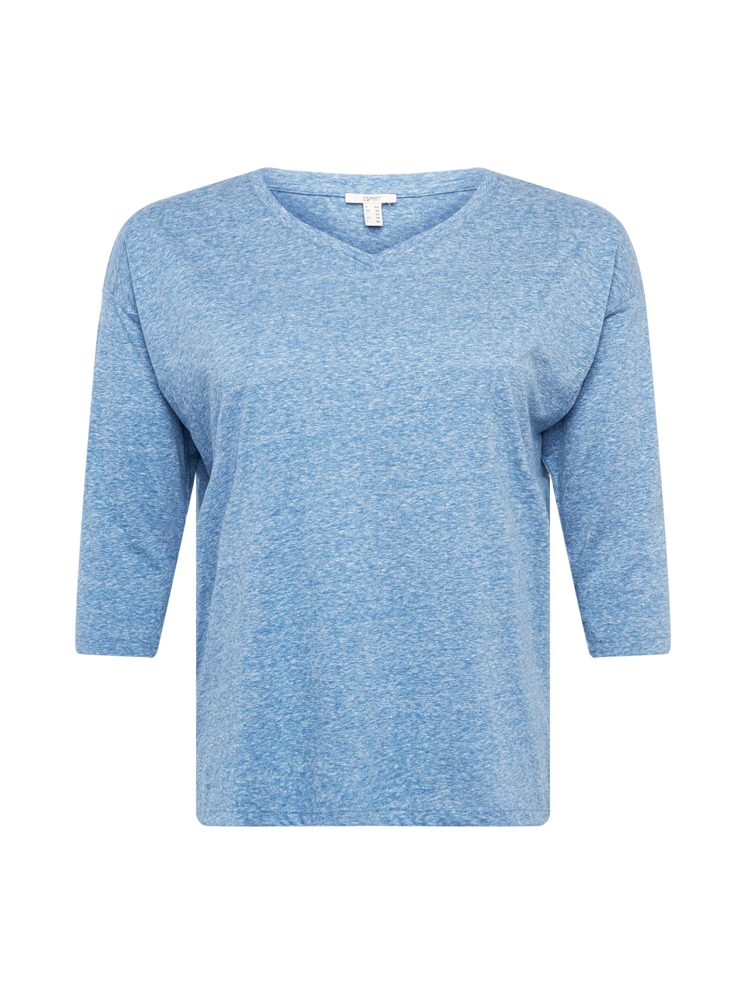 Esprit Curves Marškinėliai margai mėlyna