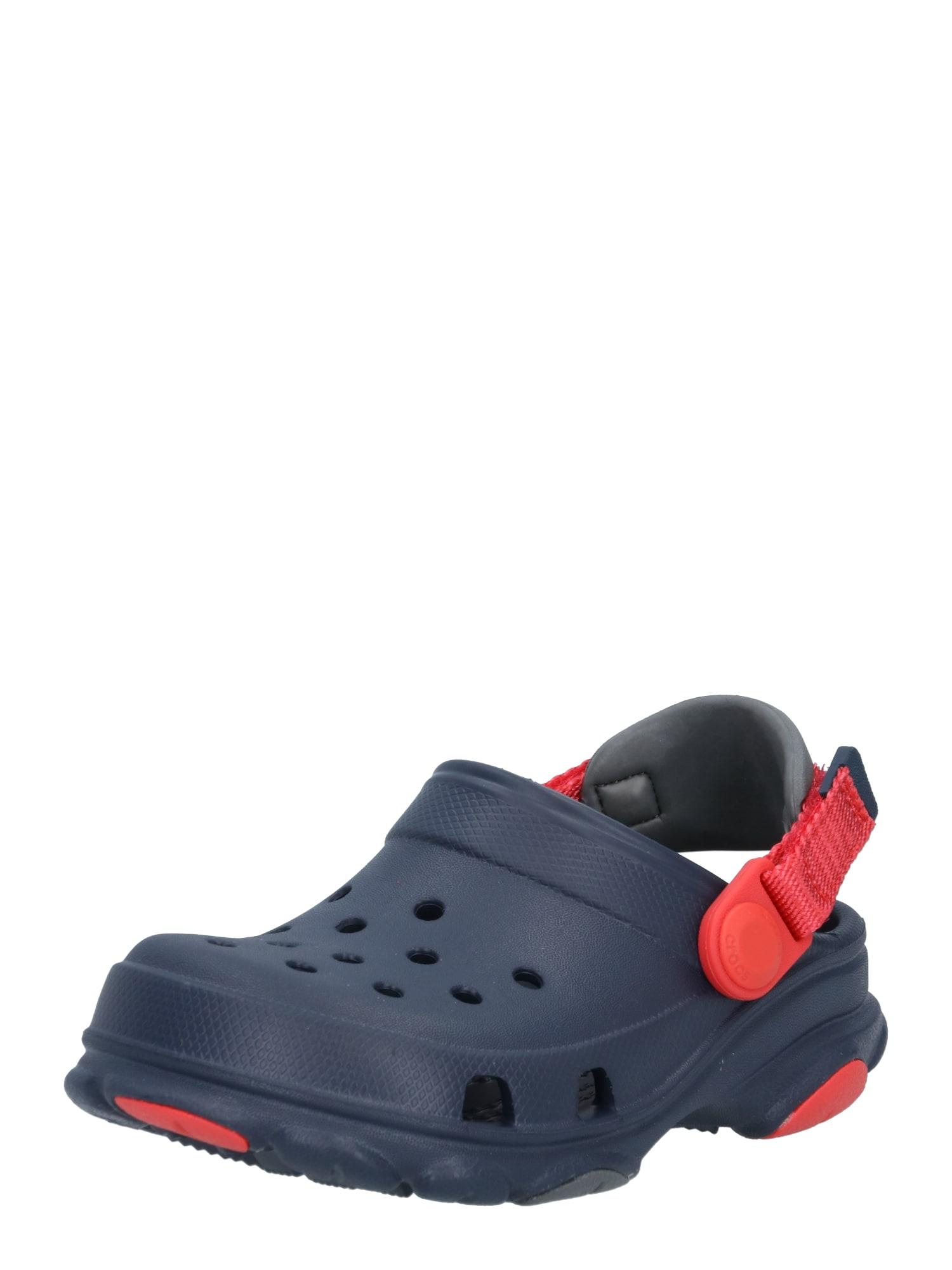 Crocs Atviri batai tamsiai mėlyna / šviesiai raudona