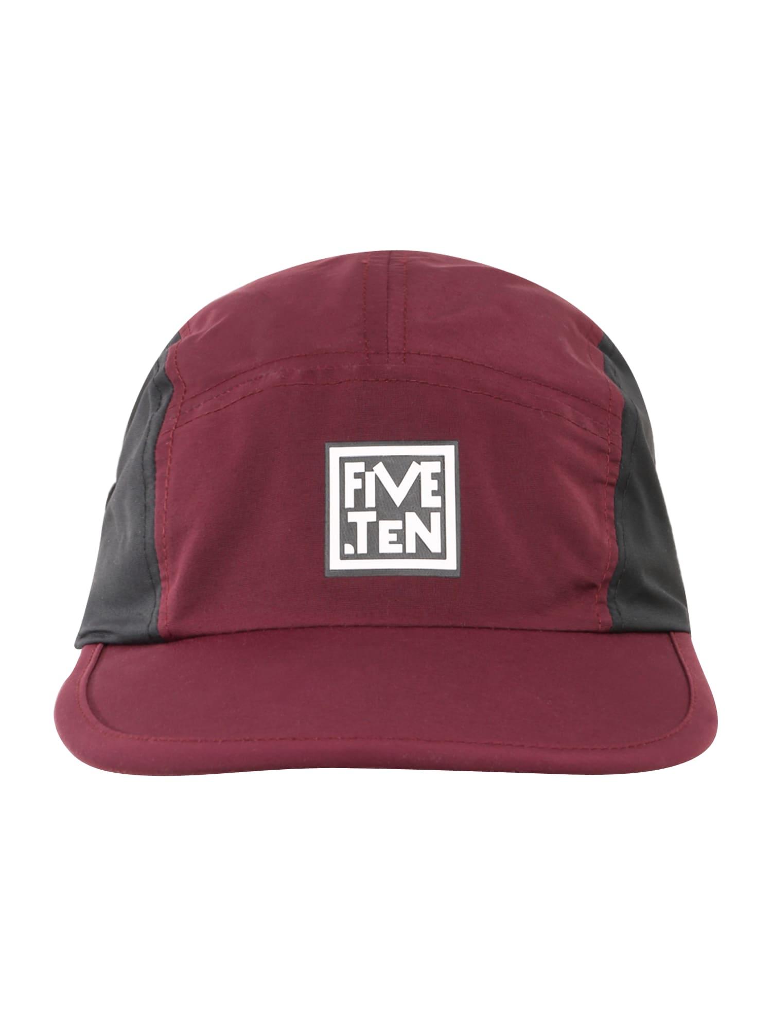 ADIDAS PERFORMANCE Sportinė kepurė tamsiai raudona / juoda