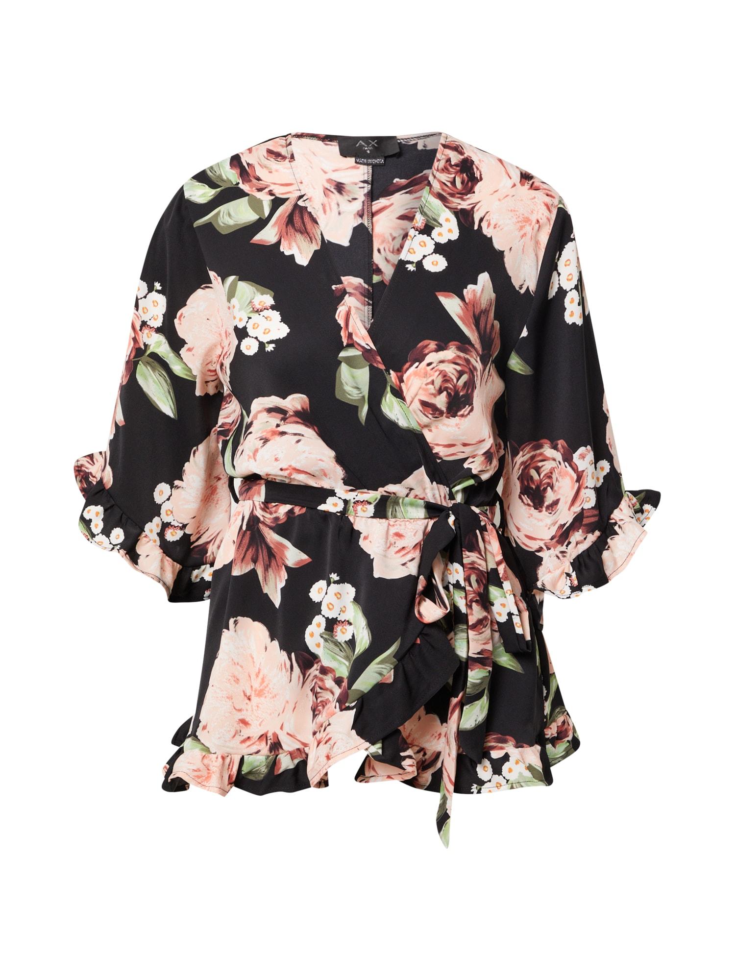 AX Paris Palaidinė rožių spalva / juoda