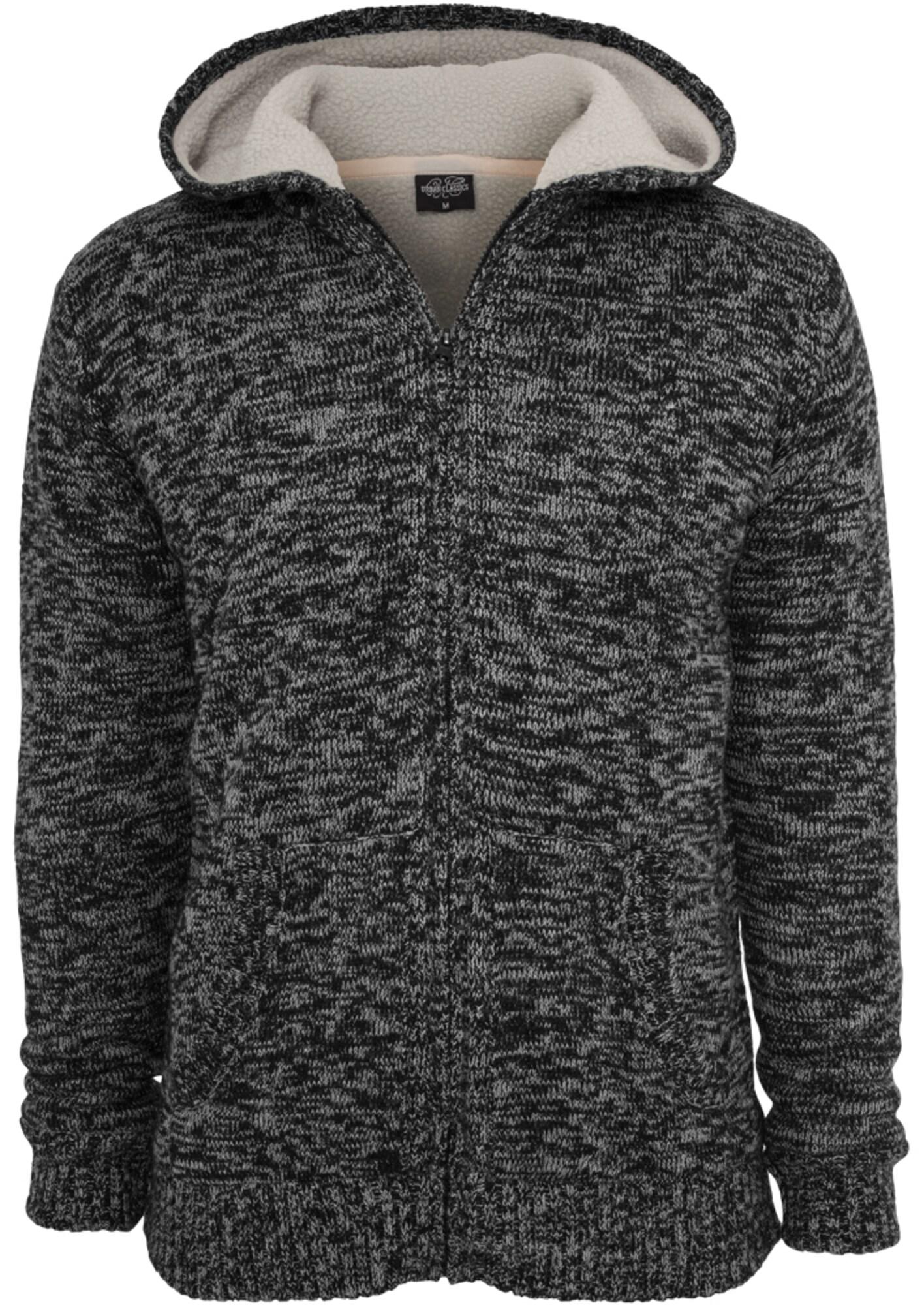 Urban Classics Džemperis juoda / pilka