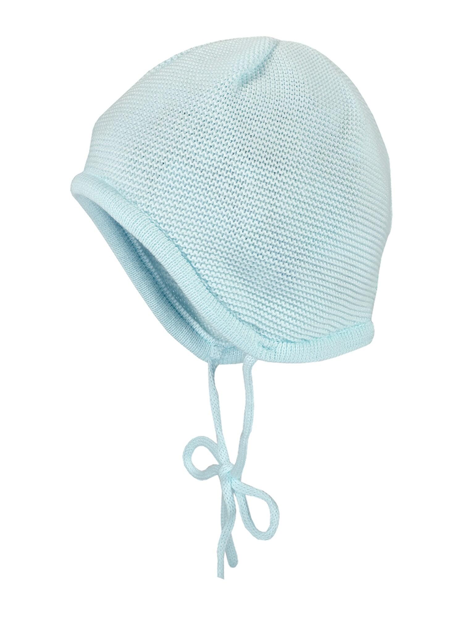 MAXIMO Megzta kepurė azuro spalva