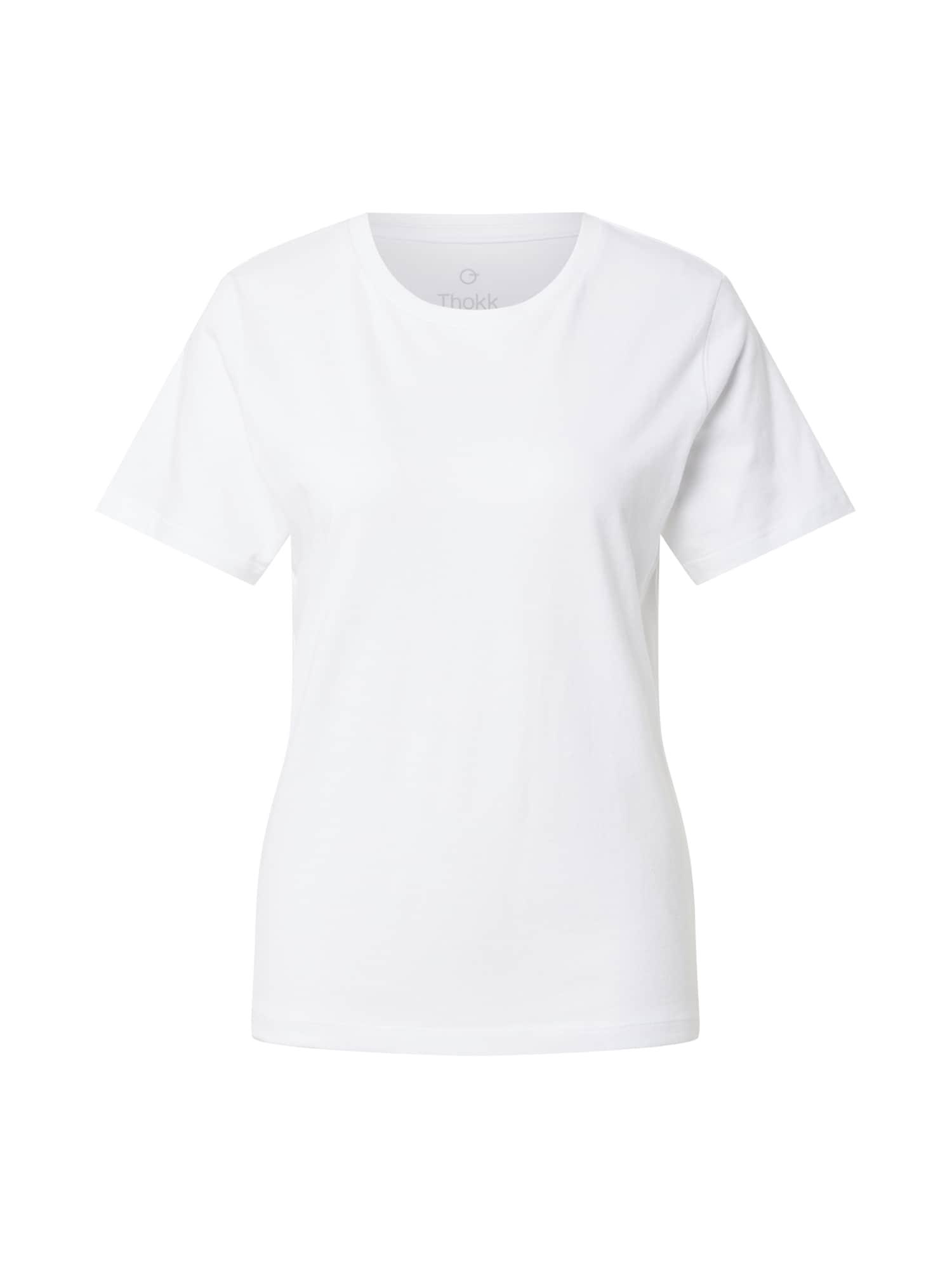 ThokkThokk Marškinėliai balta