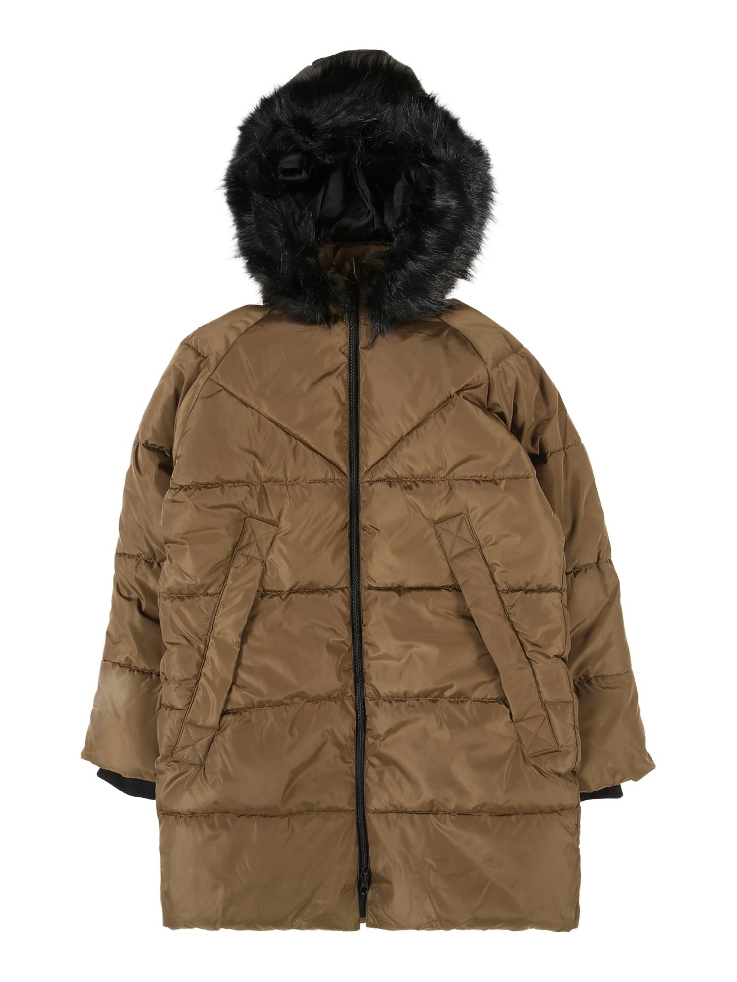 KIDS ONLY Zimná bunda 'Monica'  olivová