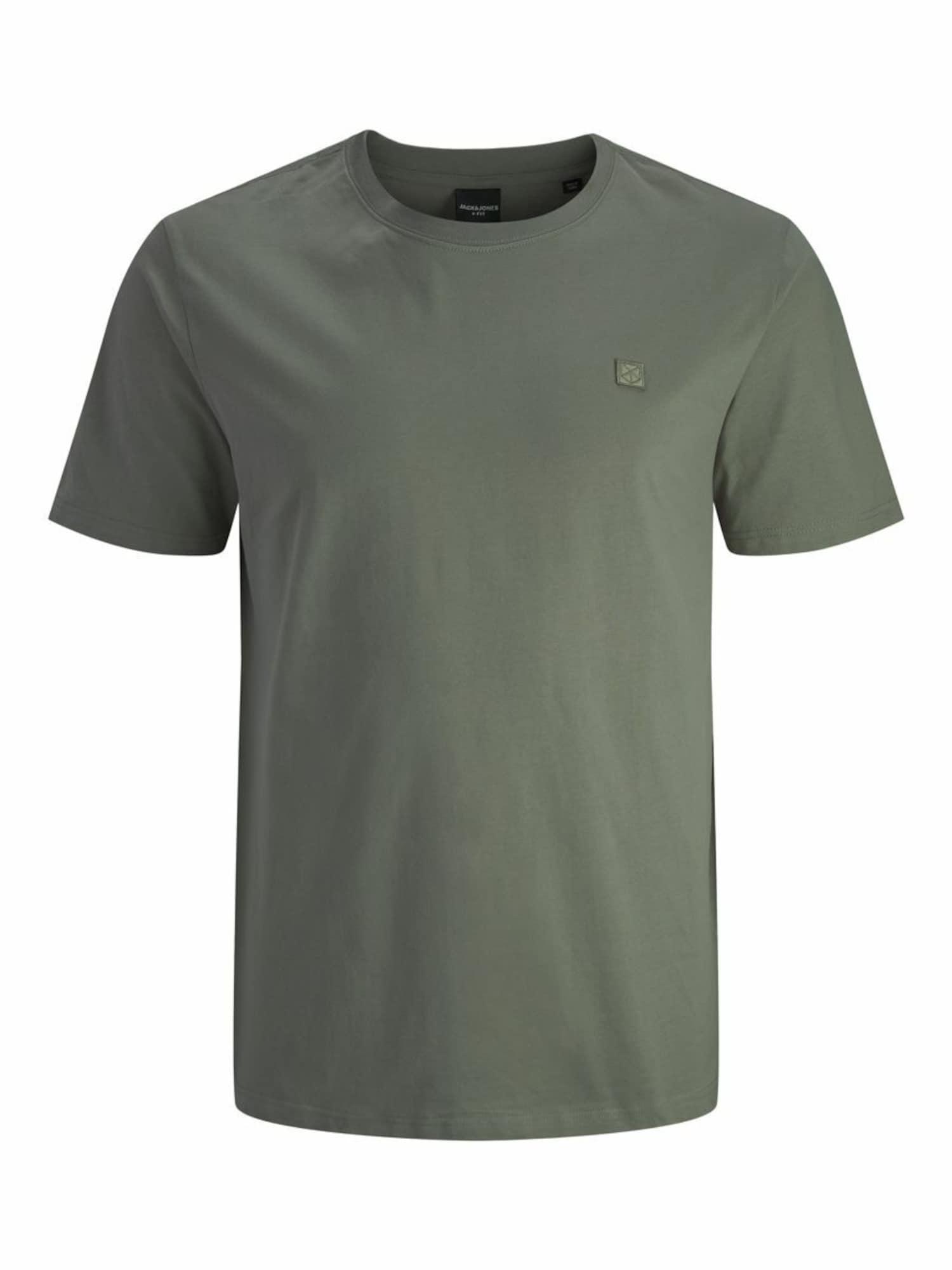 Jack & Jones Plus Marškinėliai nendrių spalva