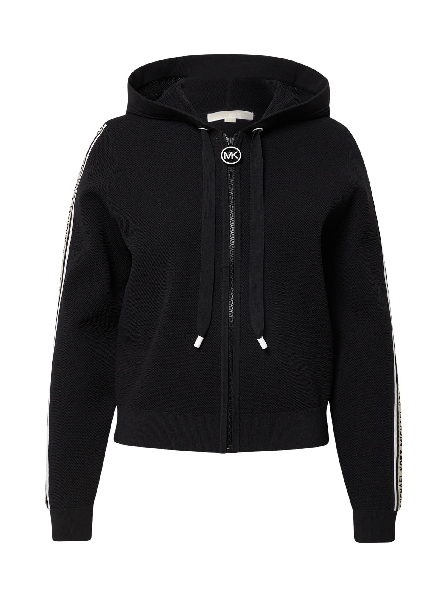 MICHAEL Michael Kors Džemperis juoda / balta / kūno spalva