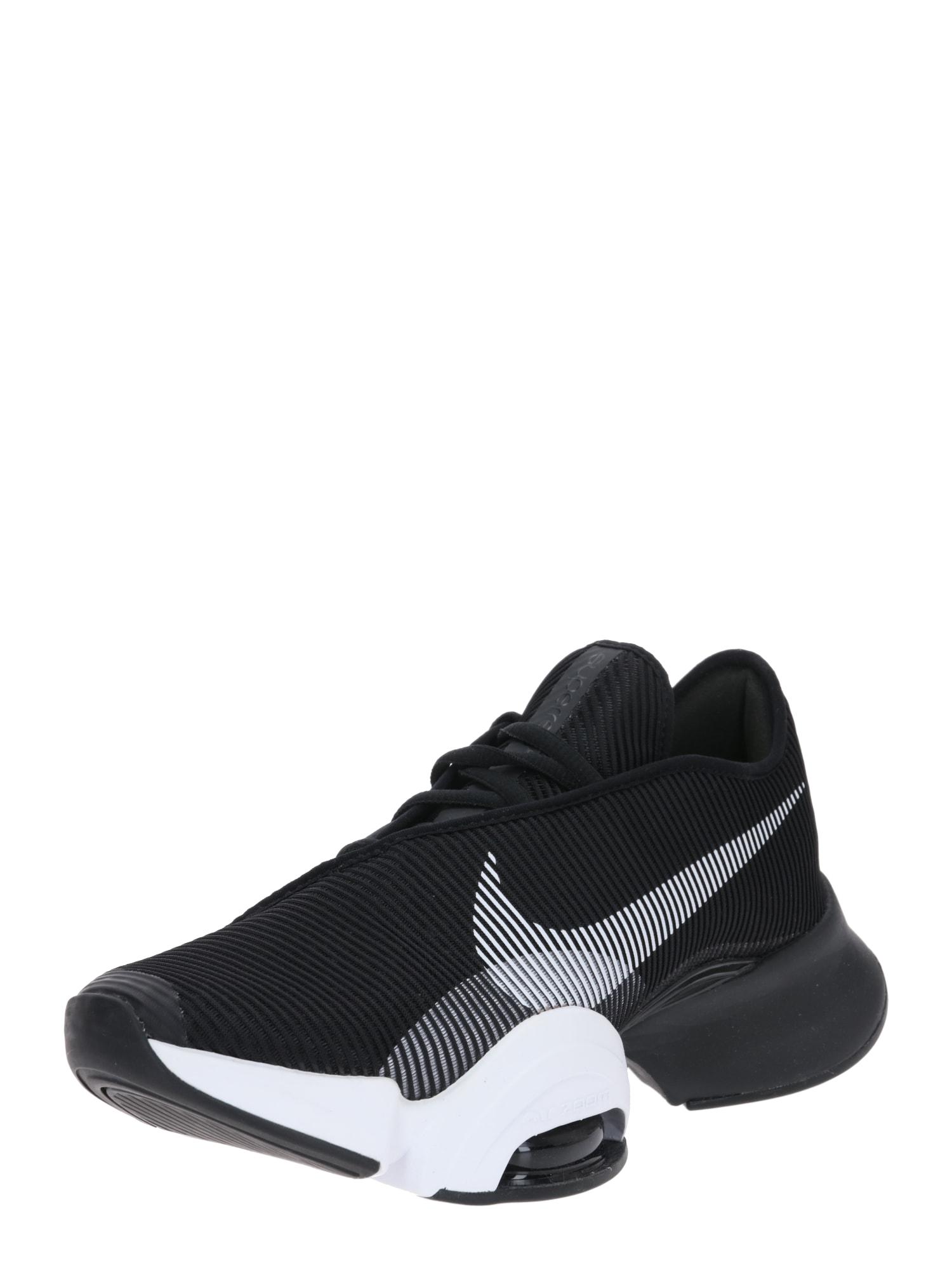 NIKE Sportiniai batai juoda / pilka