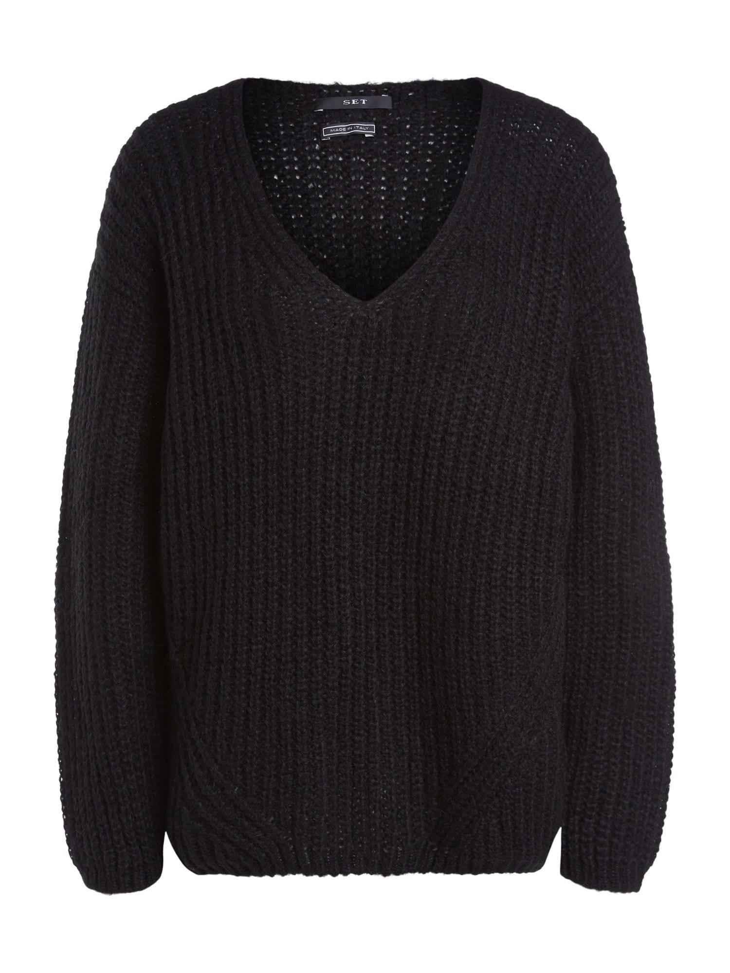 SET Megztinis juoda