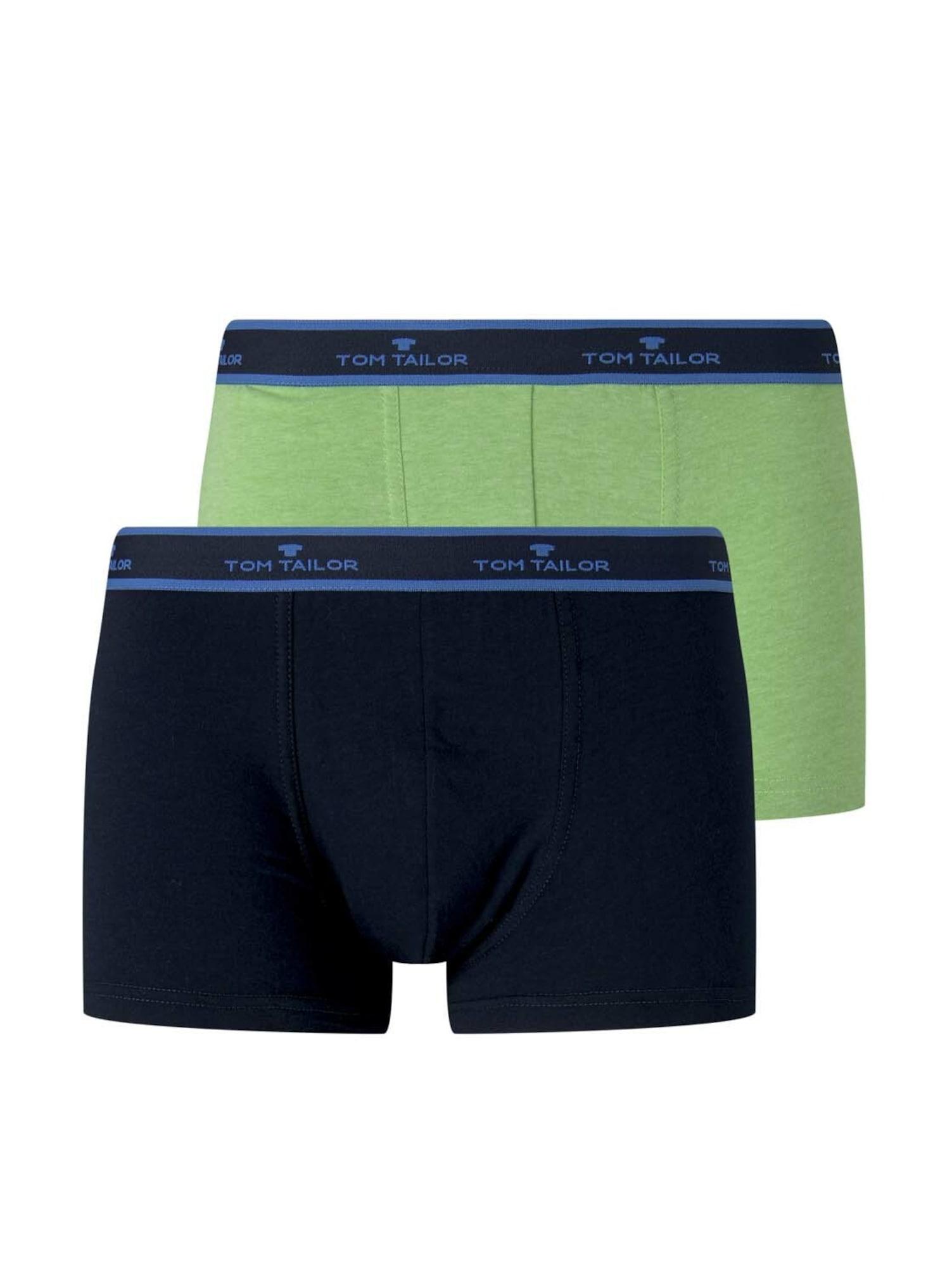 """TOM TAILOR Boxer trumpikės tamsiai mėlyna / obuolių spalva / sodri mėlyna (""""karališka"""")"""