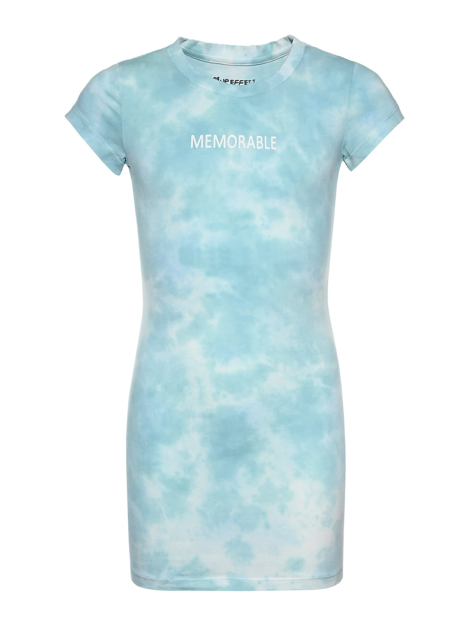 BLUE EFFECT Suknelė mėtų spalva / balta