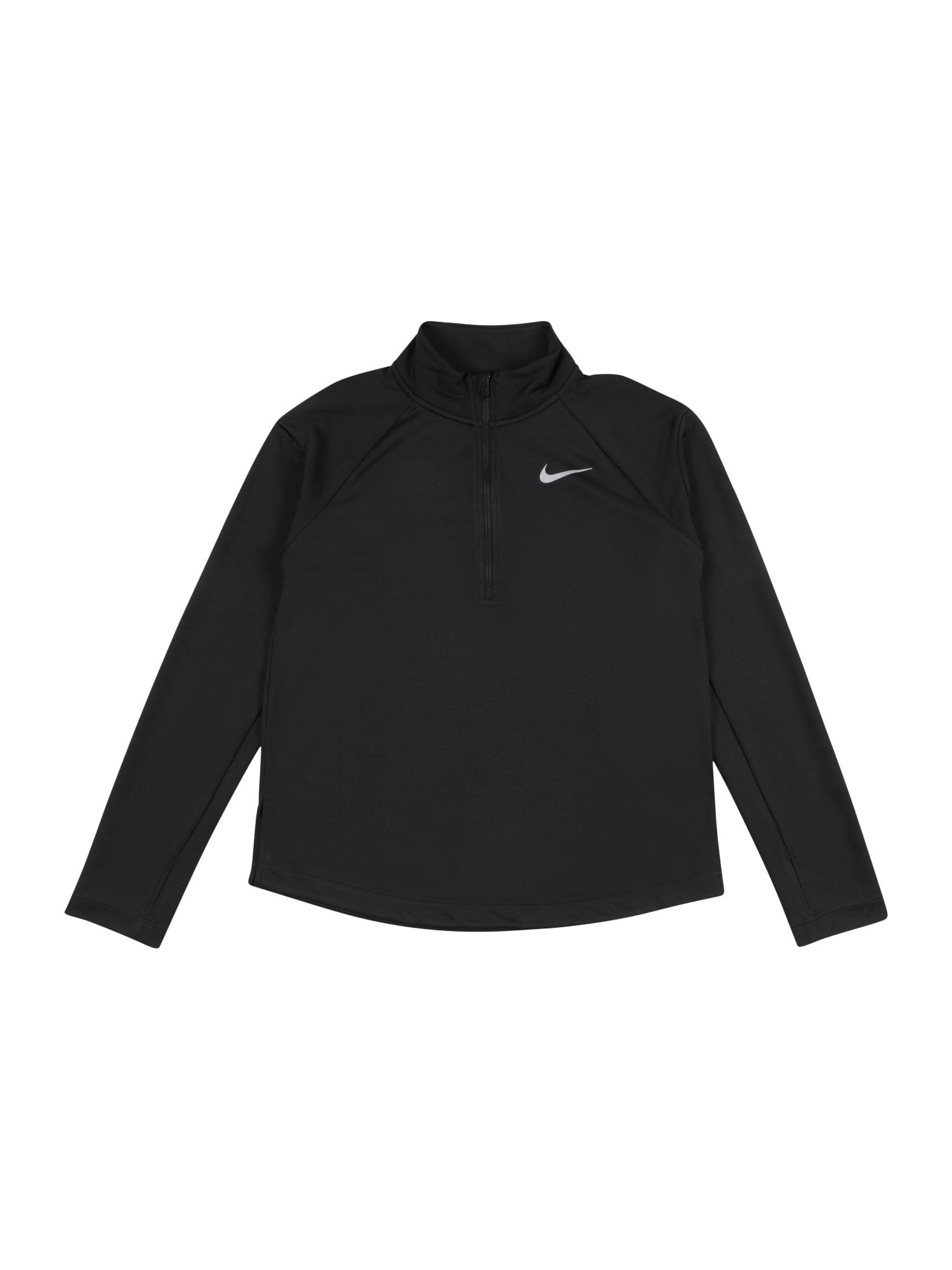 NIKE Funkční tričko  černá
