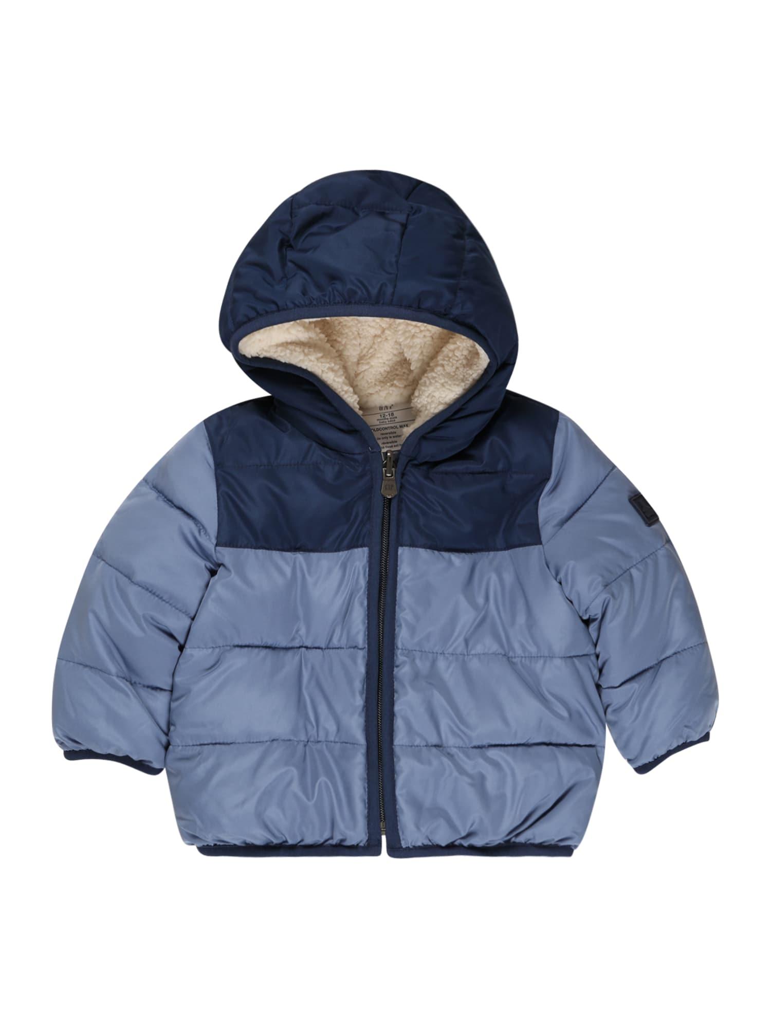 GAP Přechodná bunda  námořnická modř / chladná modrá
