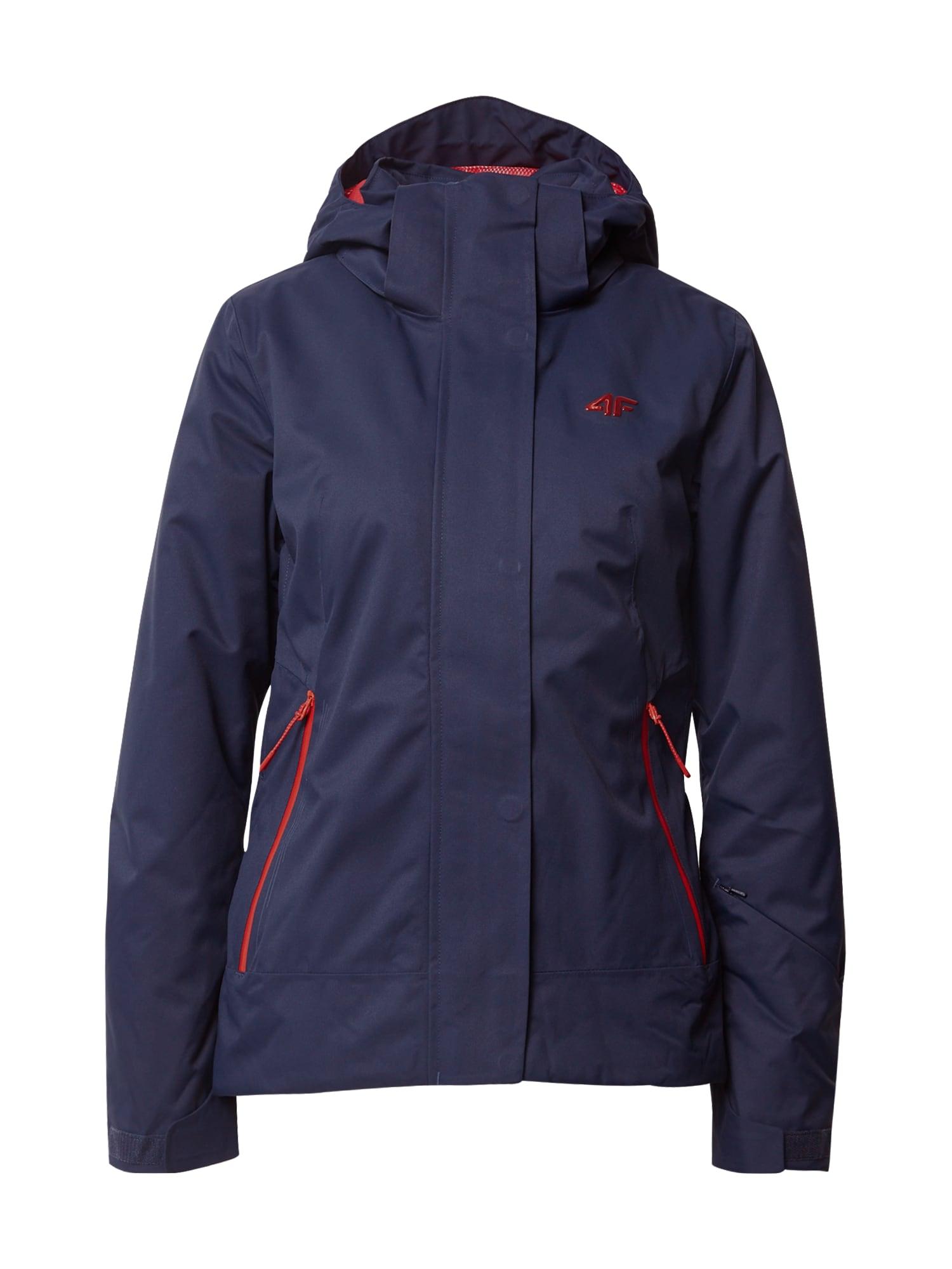 4F Outdoorová bunda  tmavě modrá