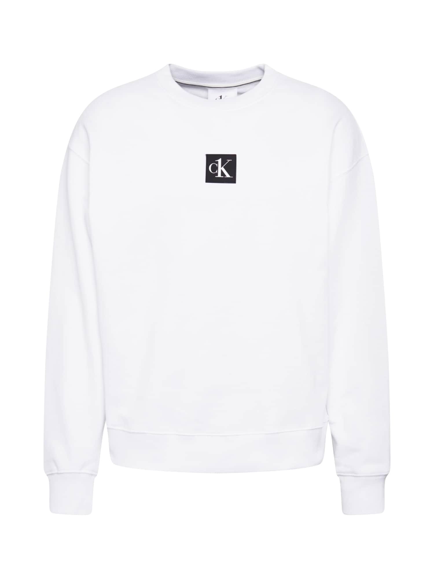 Calvin Klein Jeans Mikina  bílá / mix barev