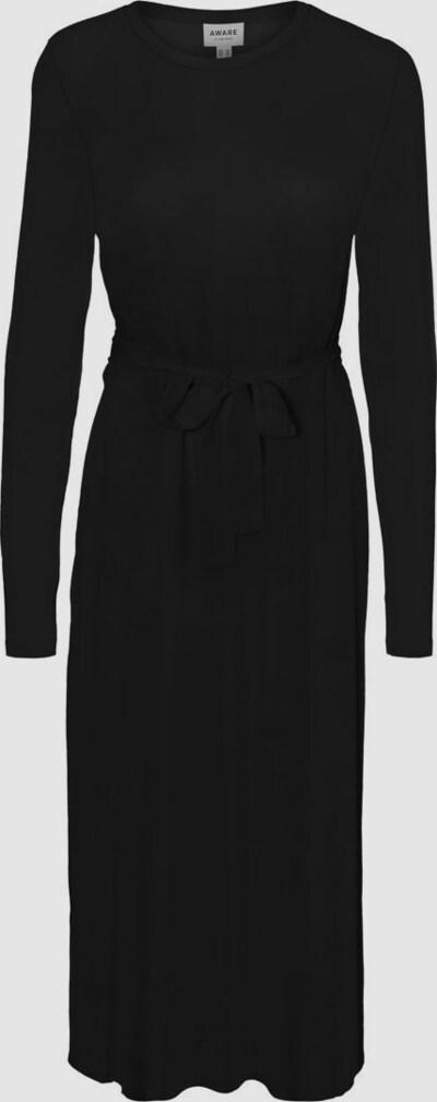 Vero Moda Aware Nava Langärmeliges Midi-Kleid mit gebundener Taille und Leopardenmuster