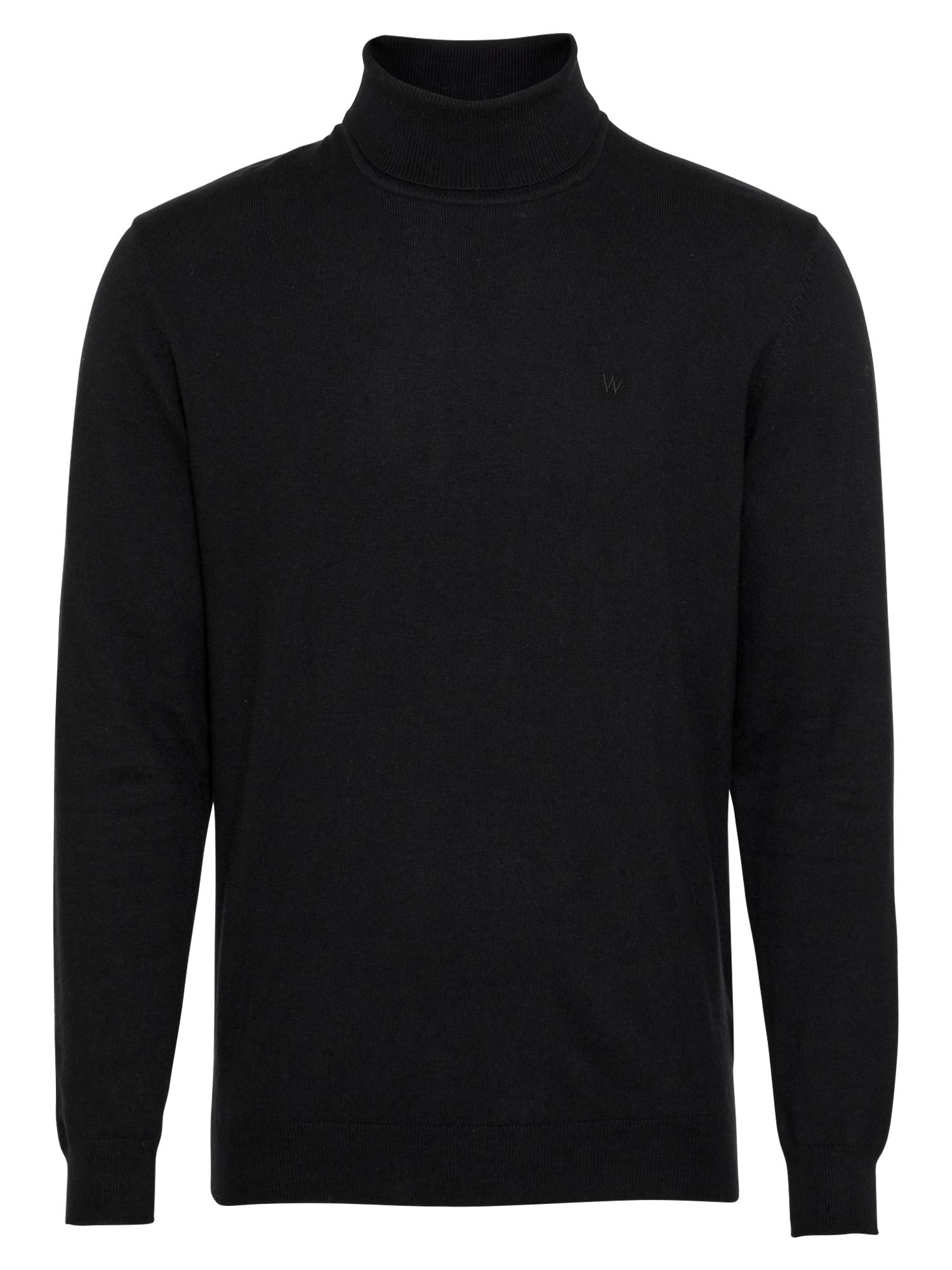 WRANGLER Megztinis juoda