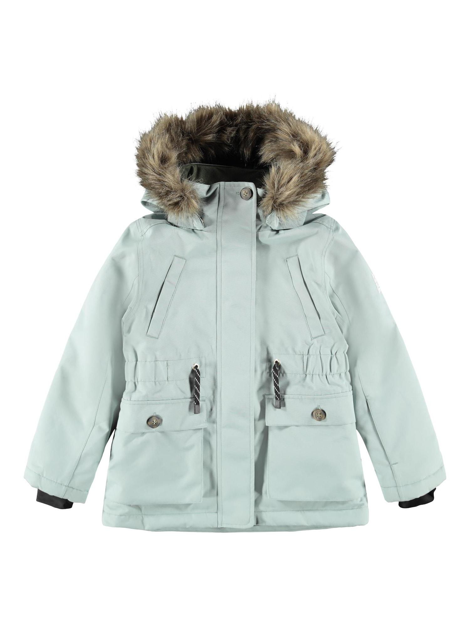 NAME IT Zimní bunda 'SNOW10'  šedá
