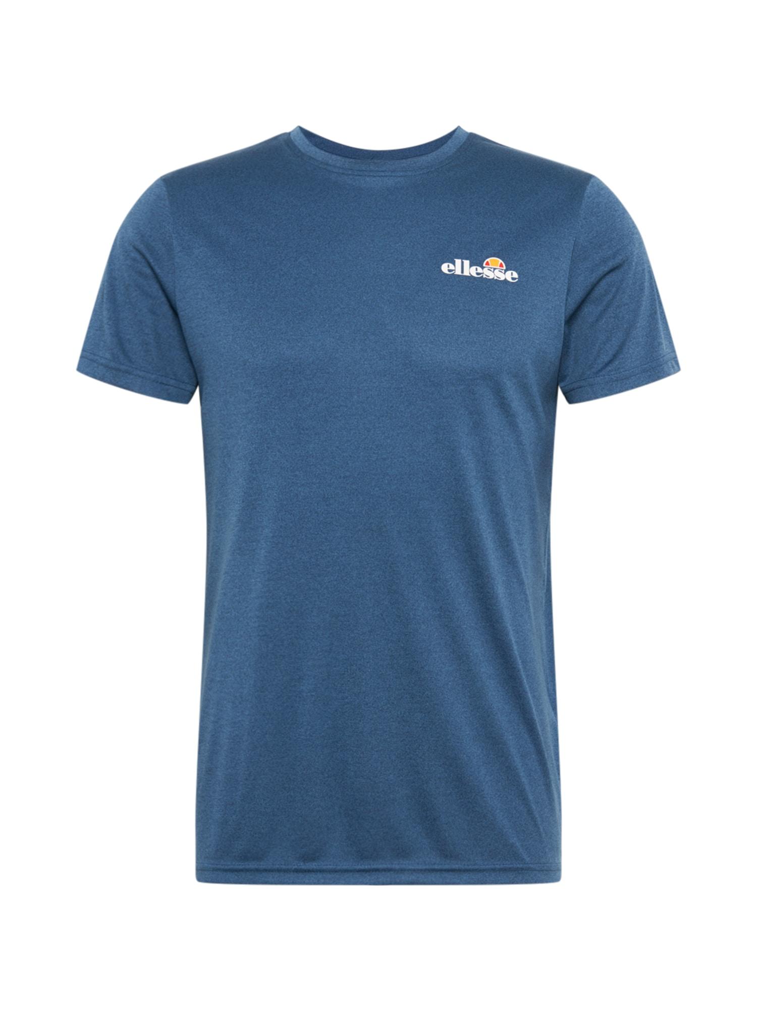 ELLESSE Sportiniai marškinėliai margai mėlyna