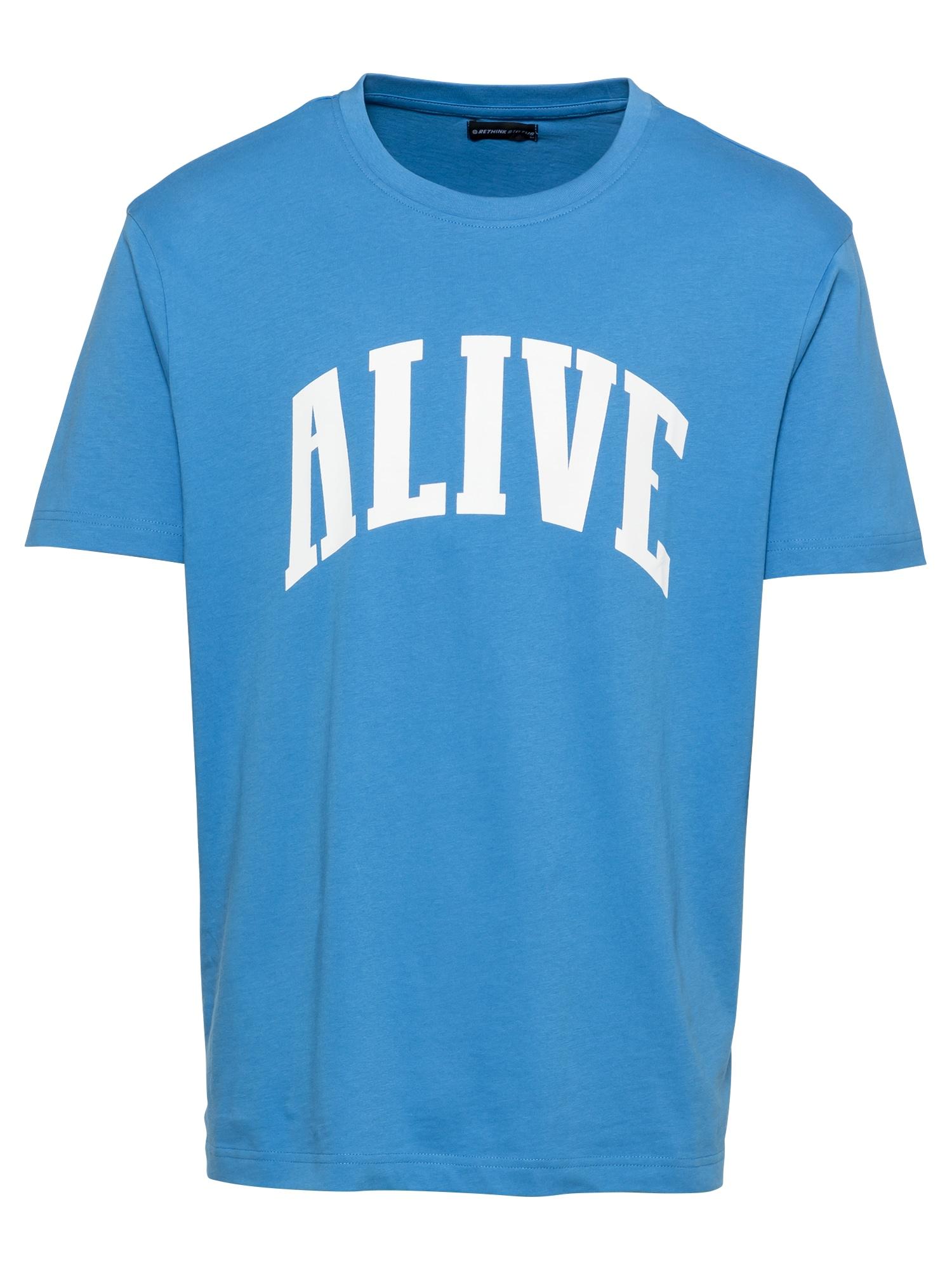Rethink Status Marškinėliai mėlyna / balta