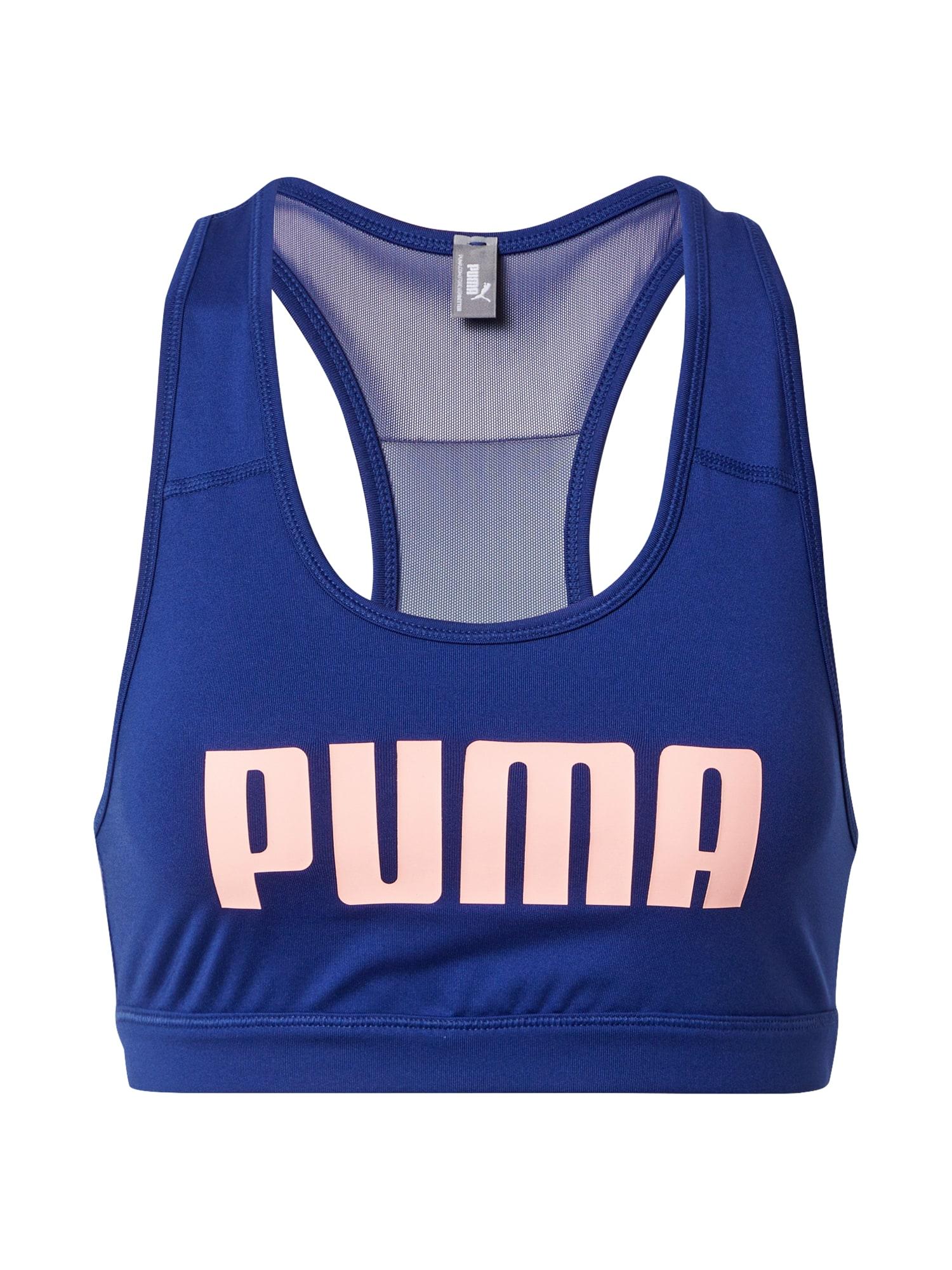 PUMA Sportovní podprsenka 'Impact 4Keeps'  námořnická modř / pastelově růžová