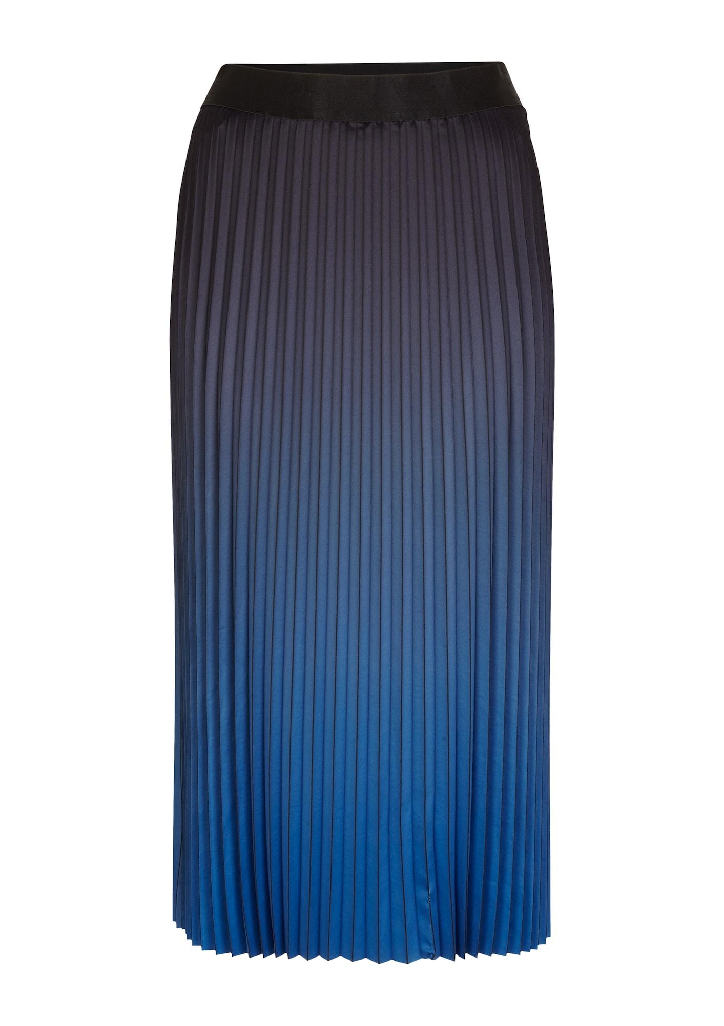 COMMA Sijonas safyro / tamsiai mėlyna jūros spalva